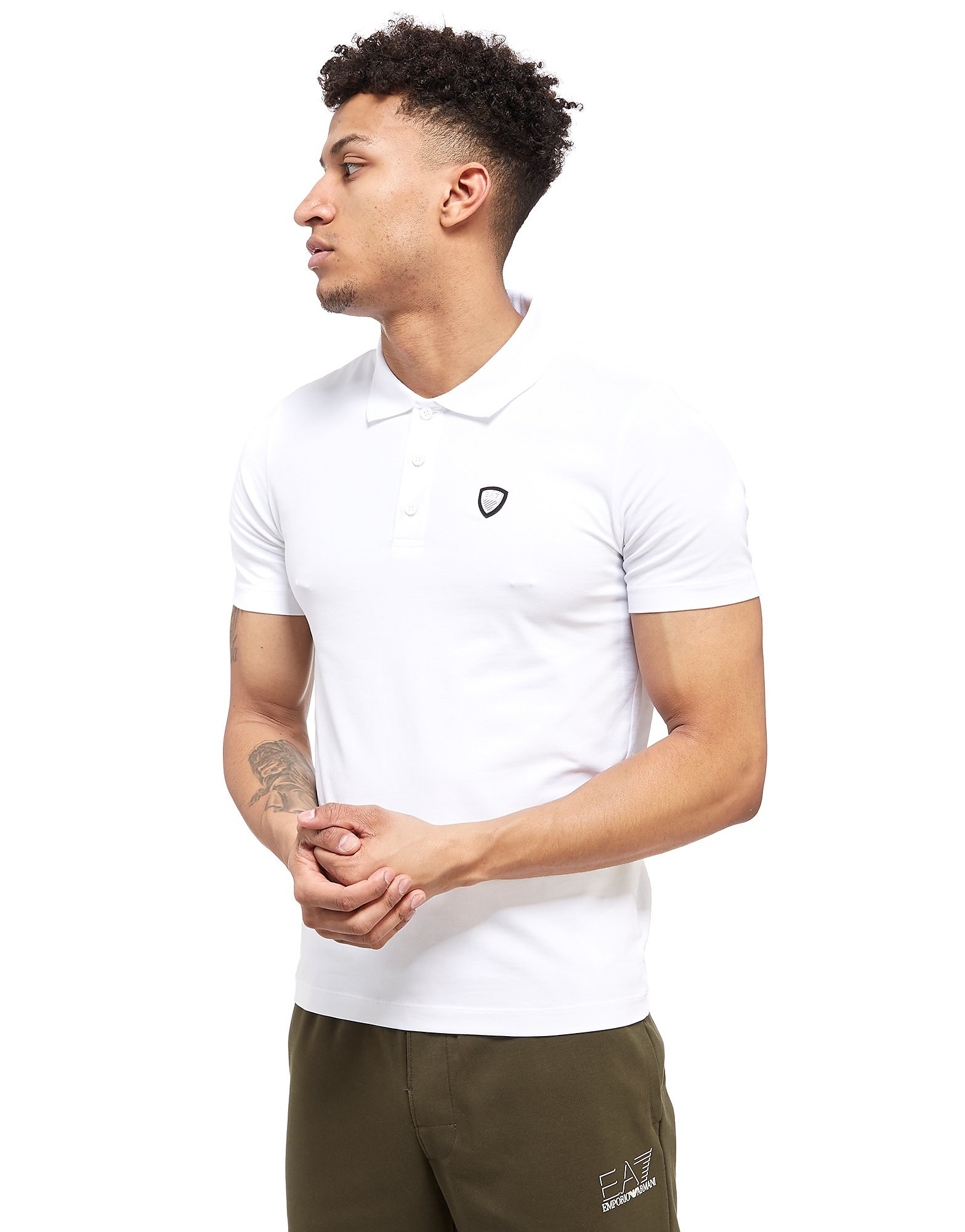 Emporio Armani EA7 Premium Shield Polo Shirt