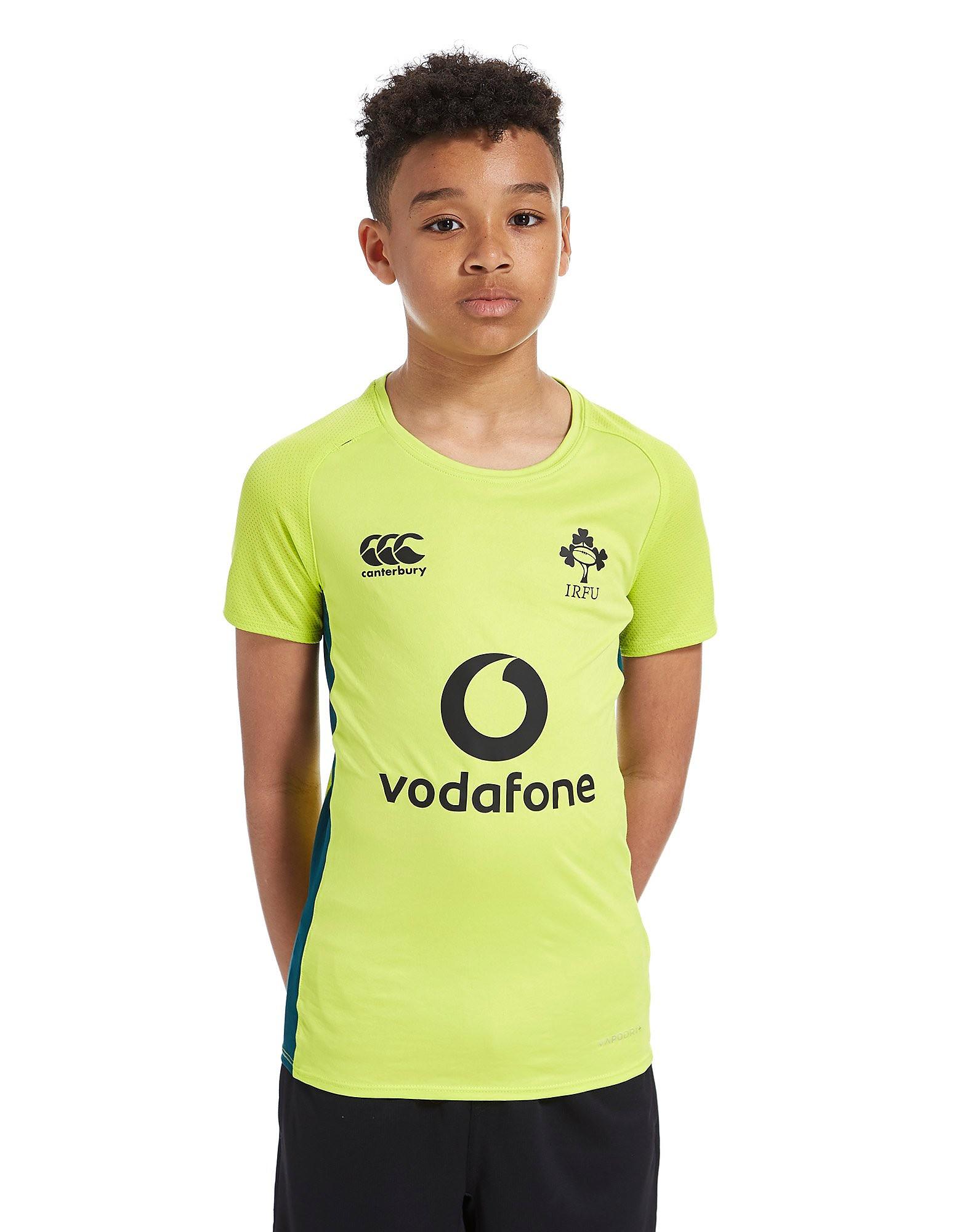 Canterbury Camiseta de manga corta Ireland RFU Poly para niños
