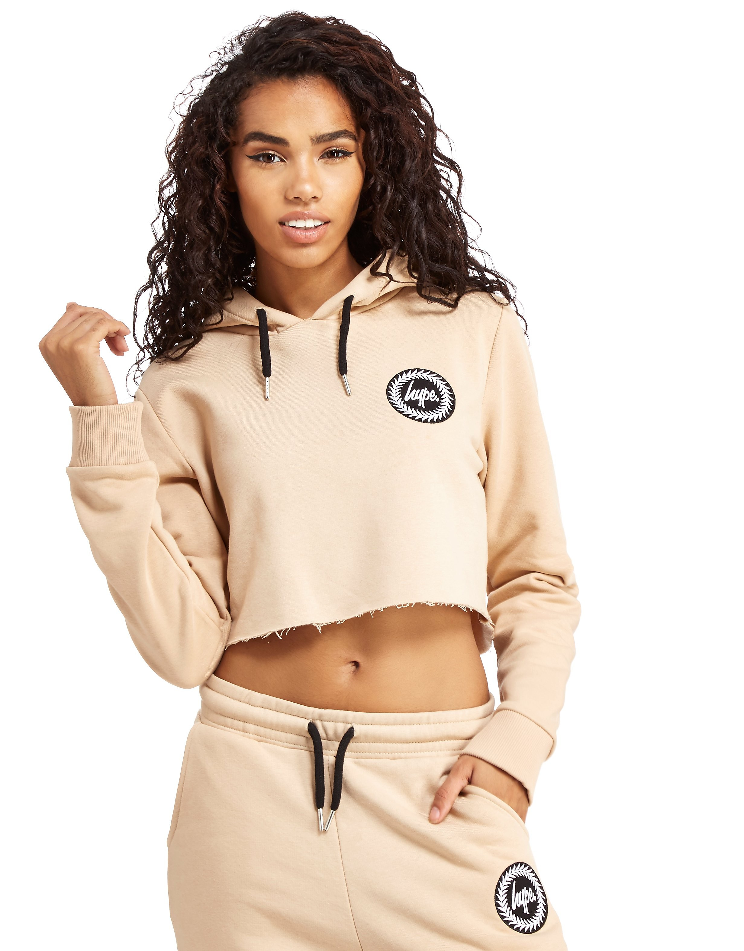 Hype Crop Patch Hoody