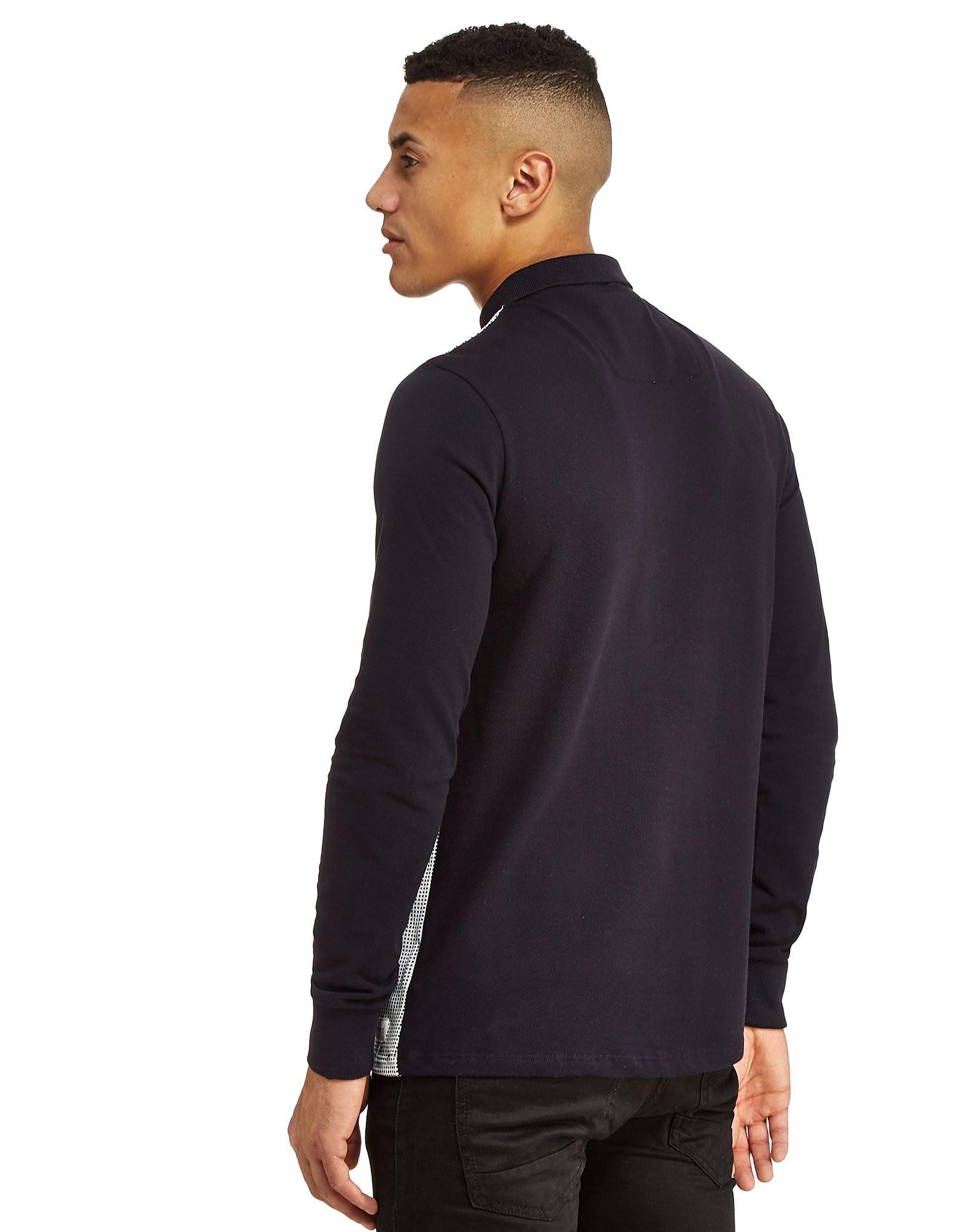 Nanny State Lucas Long Sleeve Polo Shirt