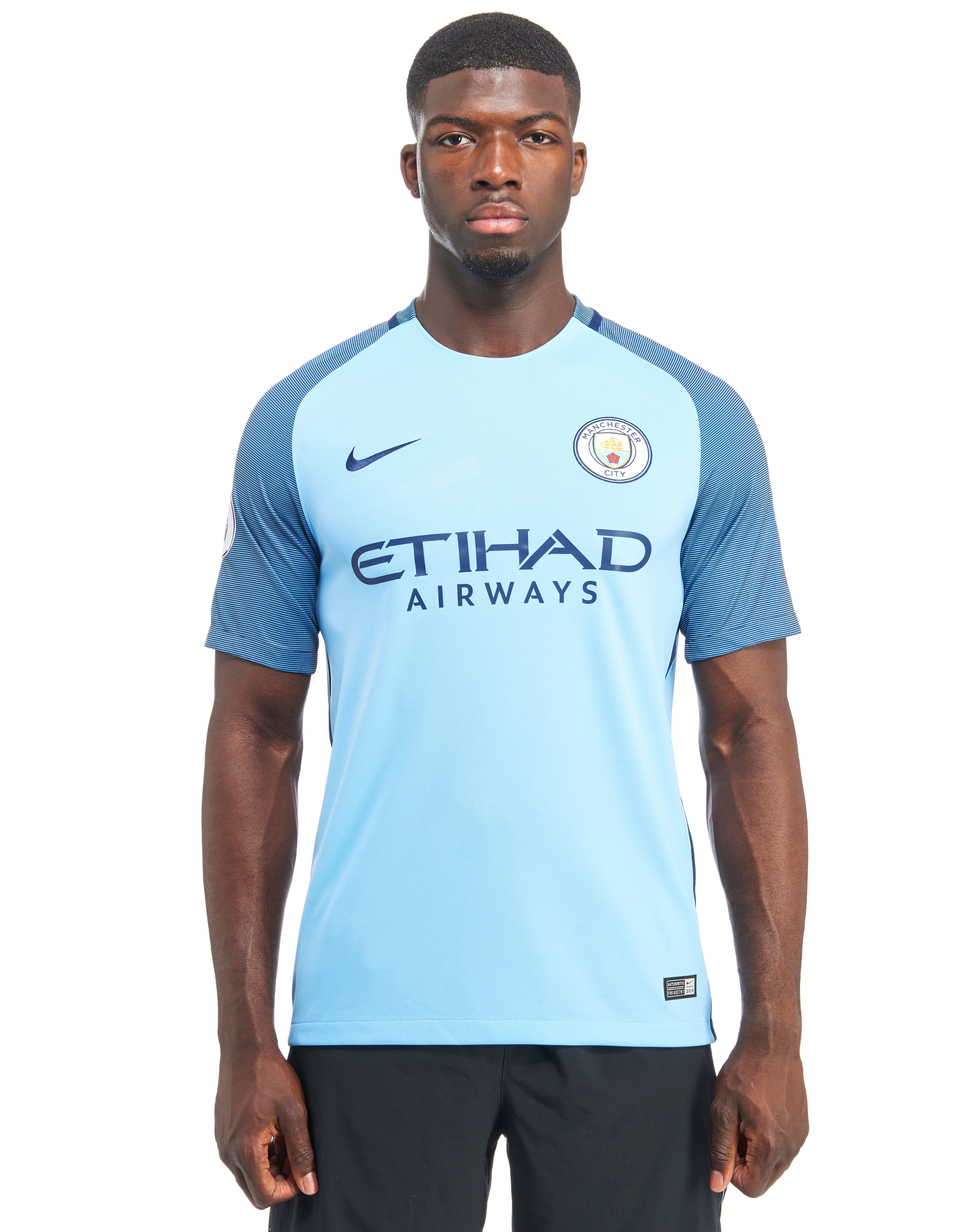 Nike Manchester City FC 2016/17 Home Prem Badge Shirt