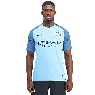 Nike Manchester City FC 2016/17 Home Prem Badge Shirt