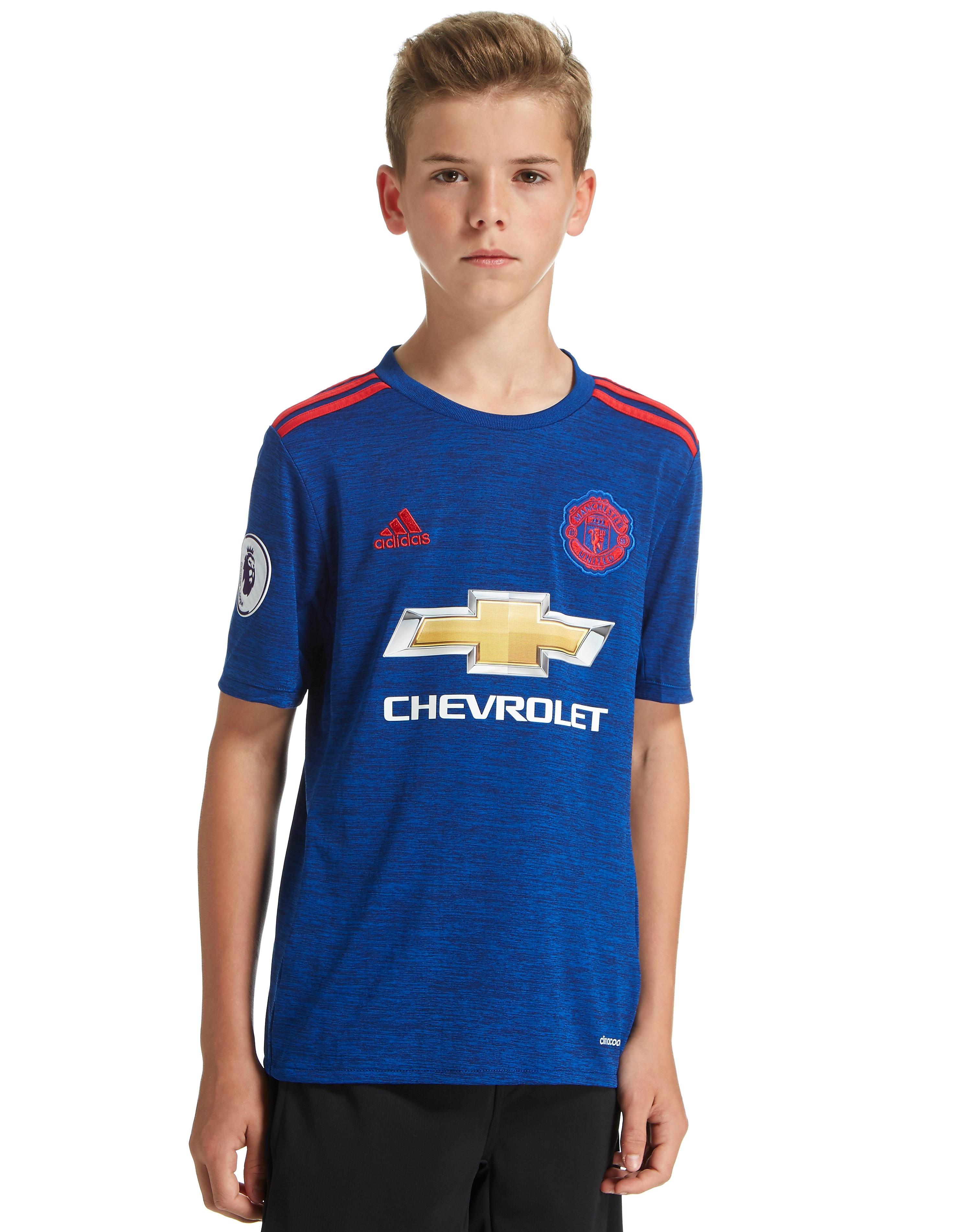 adidas Manchester United 2016 Away Prem Badge Shirt Jnr