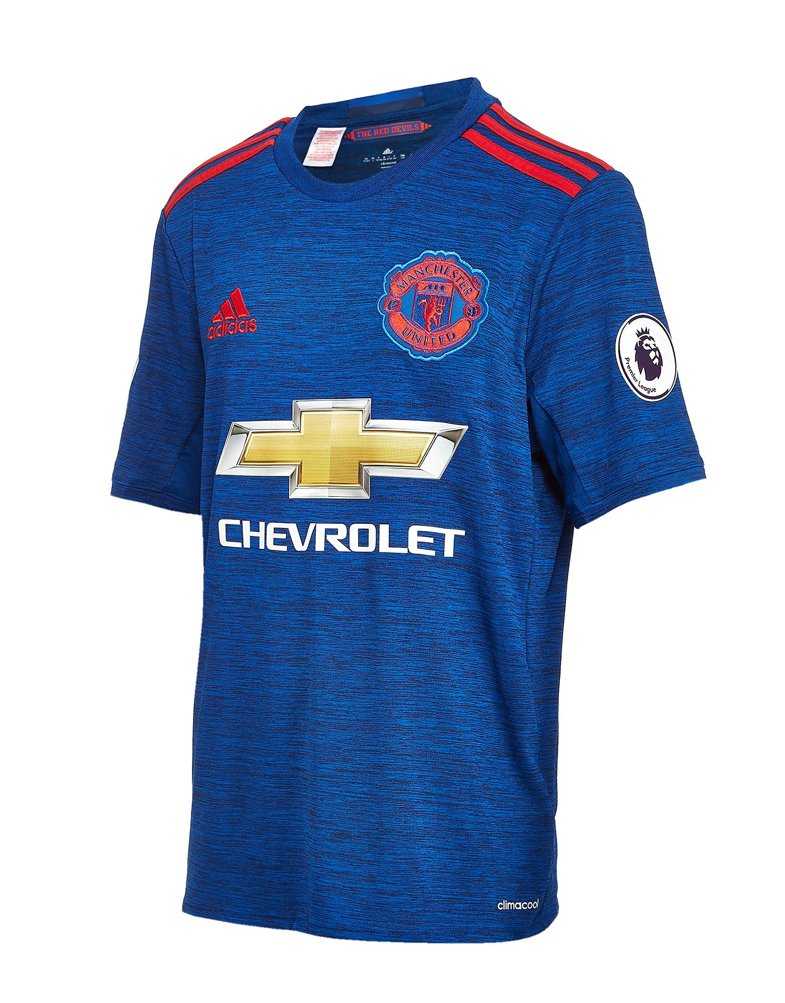 adidas Manchester United 2016 Away Prem Badge Shirt Jnr