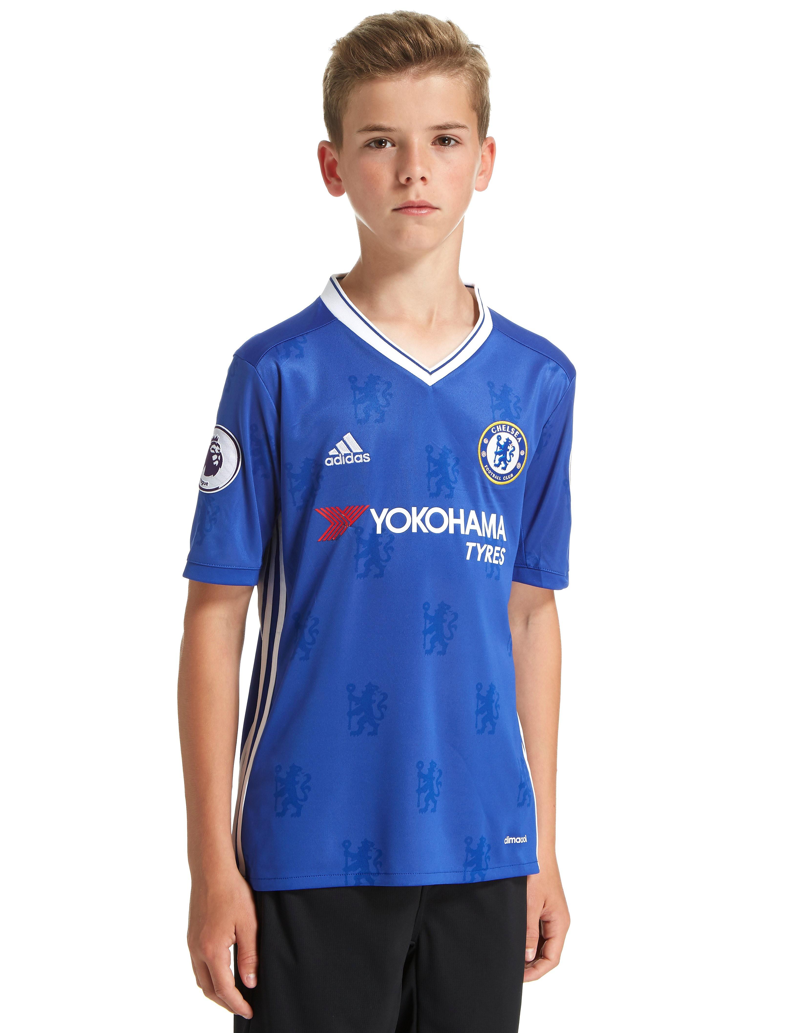 adidas Chelsea FC 2016/17 Home Prem Badge Shirt Jnr