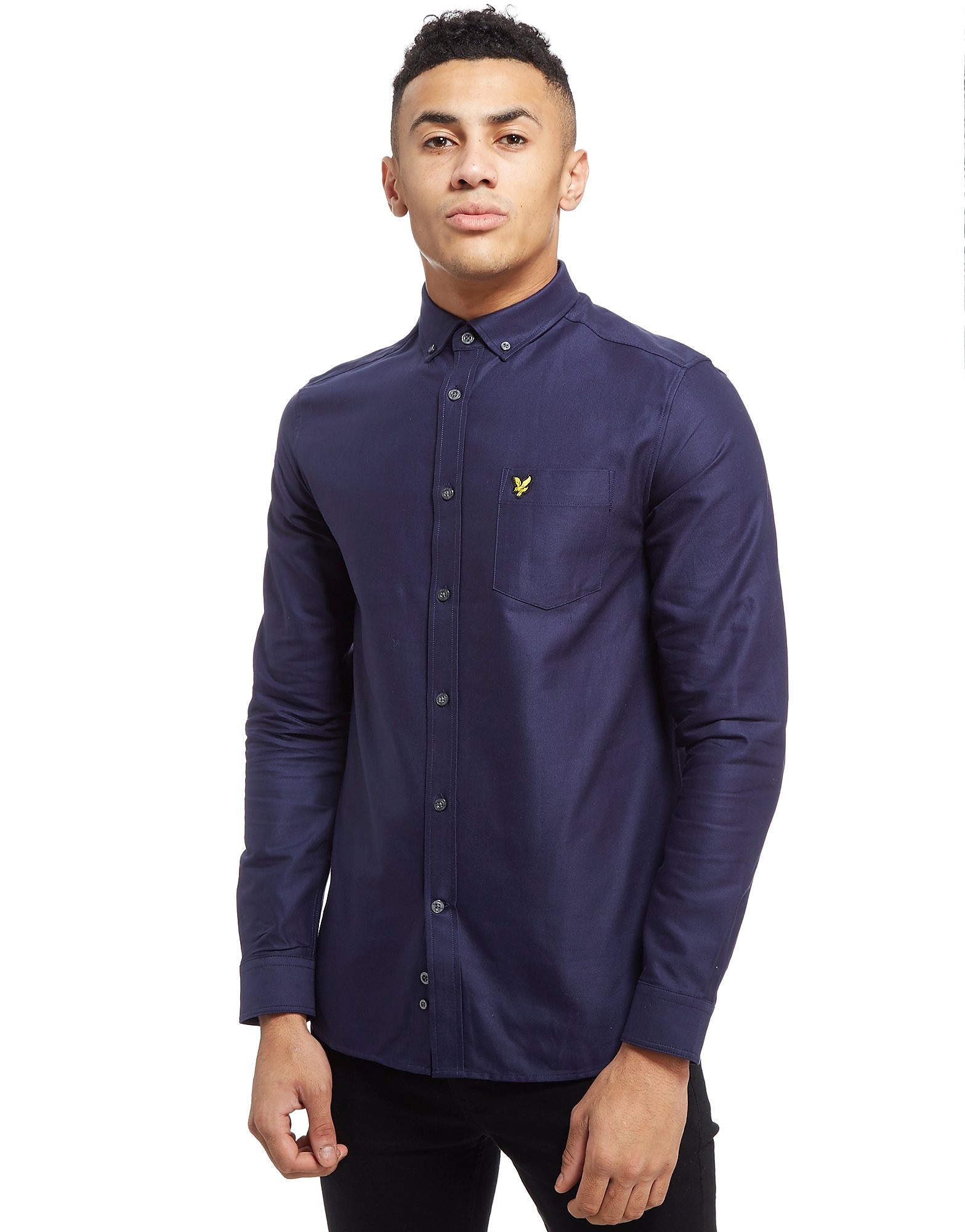 Lyle & Scott Oxford Langarm Hemd