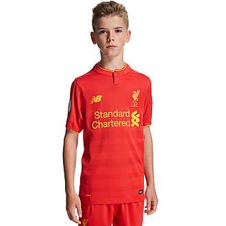 New Balance Liverpool FC 2016/17 Home Prem Badge Shirt Jnr
