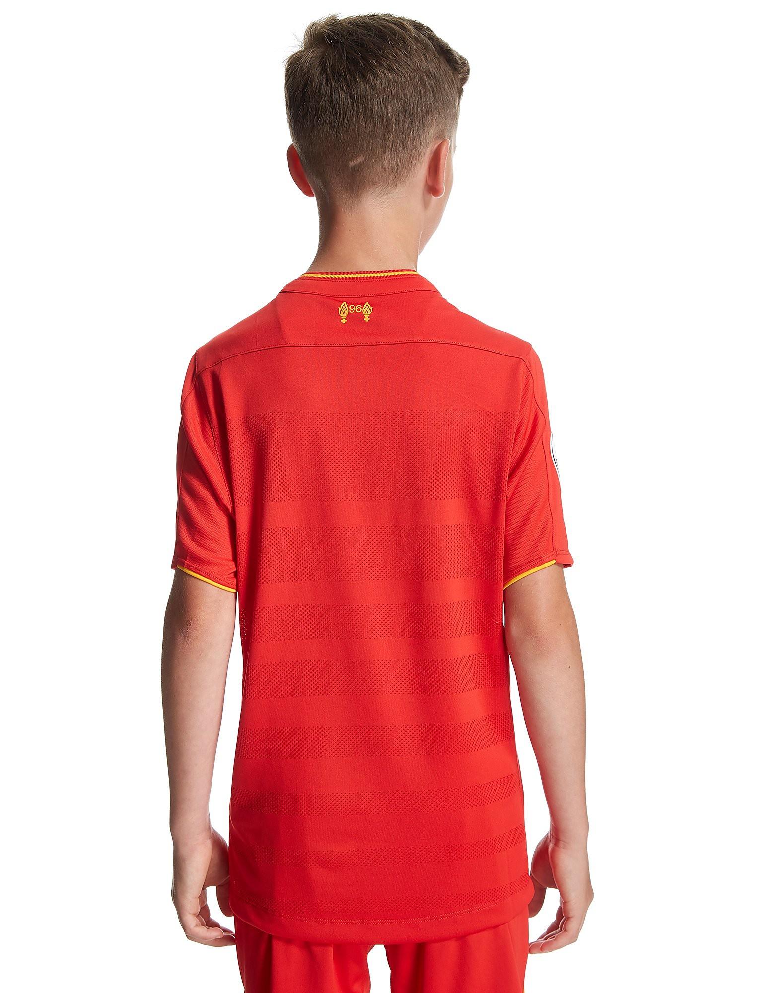 New Balance Liverpool FC 2016/17 Home Prem Badge Shirt Jnr