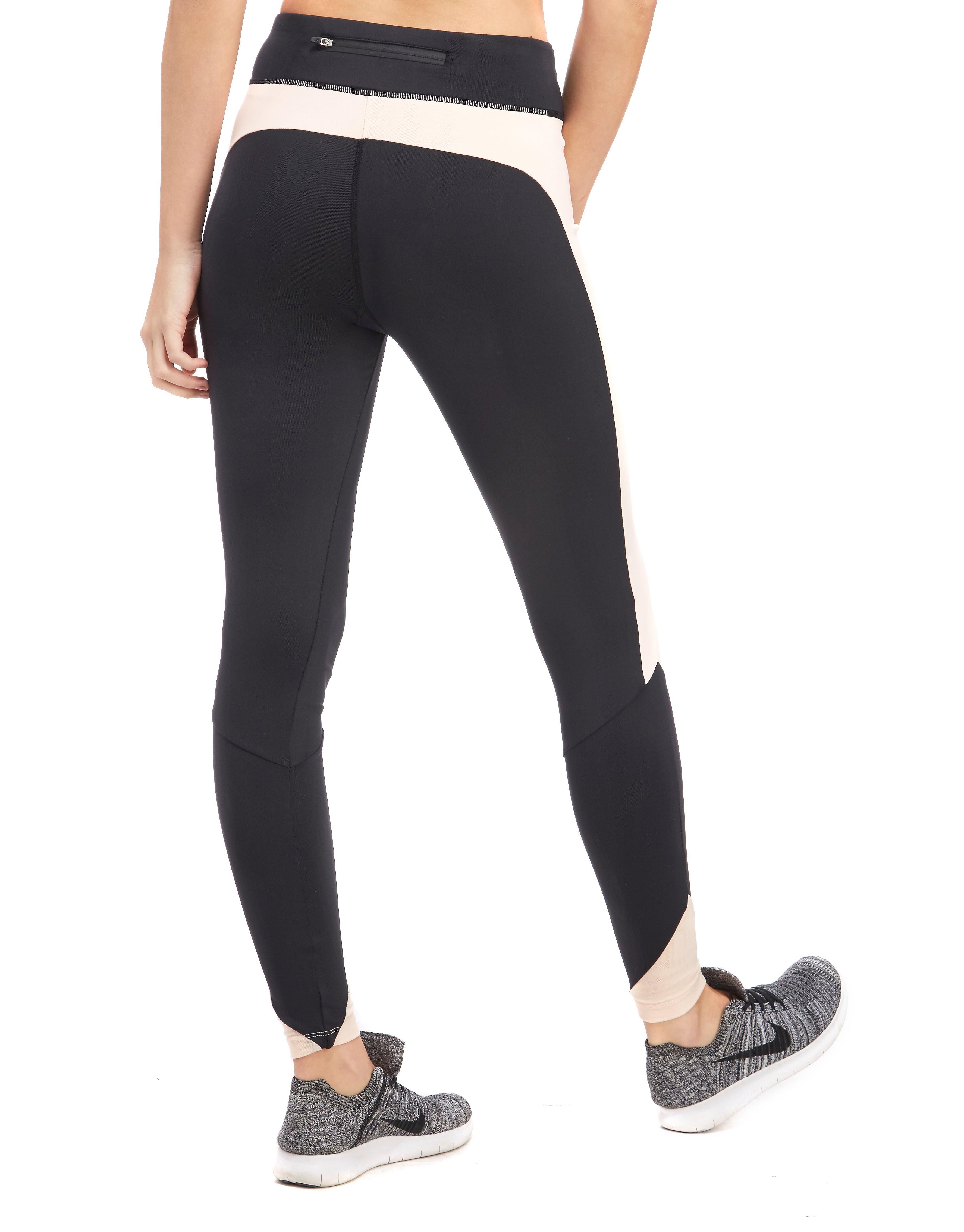 Pink Soda Sport Mesh Angle Fitness-Leggings