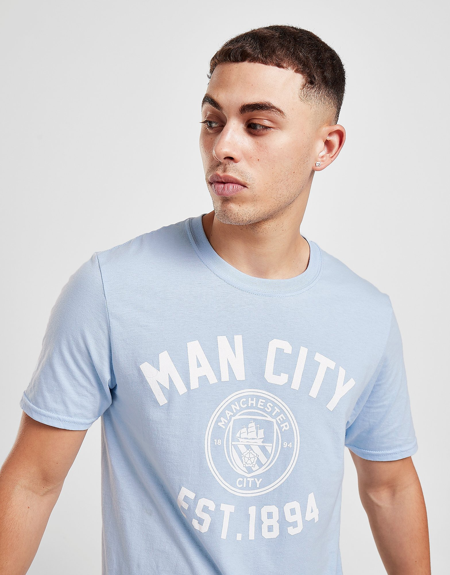 Official Team Manchester City F.C Stadium T-Shirt