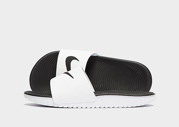 8096c9688051 Nike Kawa Slides Children - White - Kids