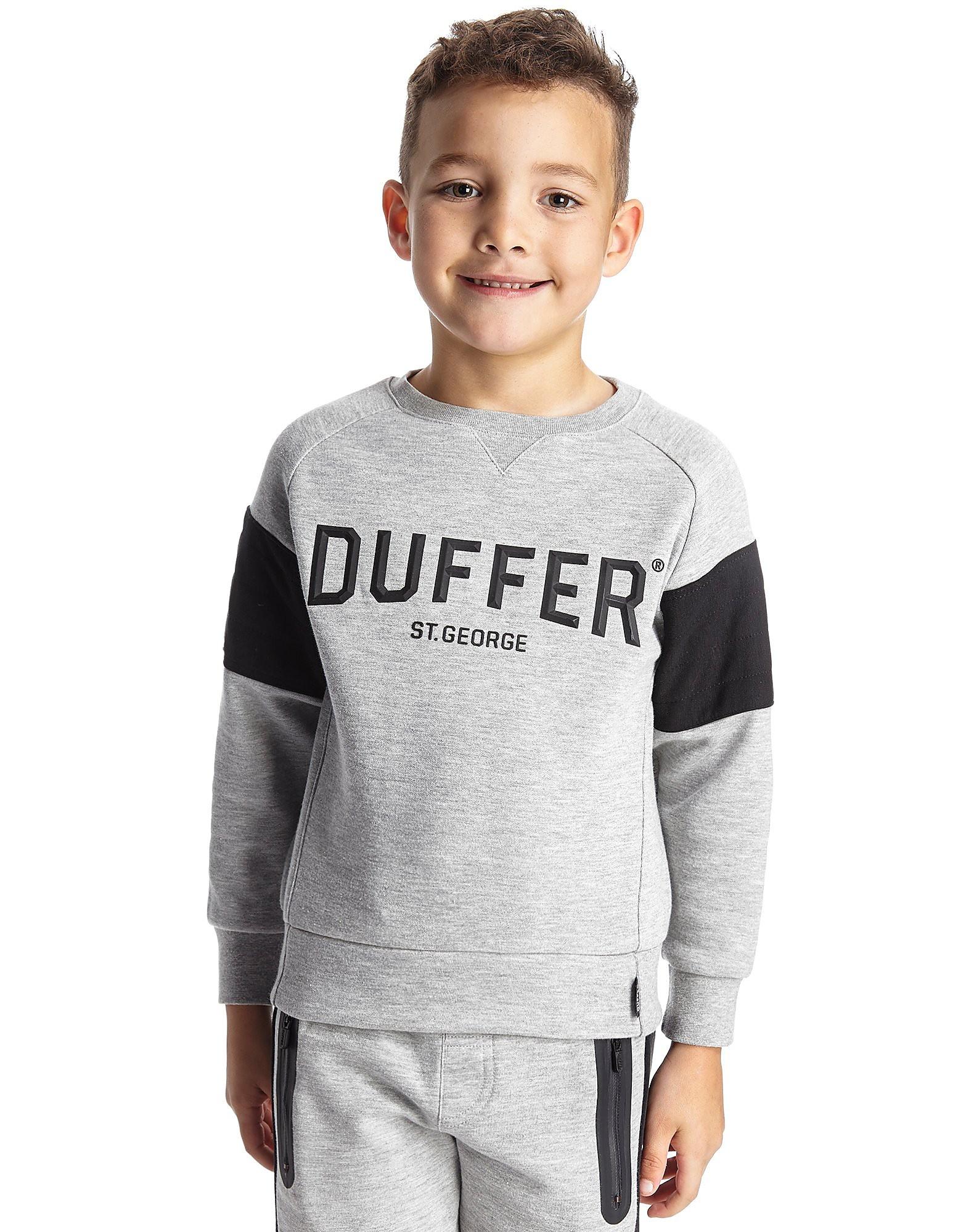 Duffer of St George Earl Kinder-Sweatshirt mit Rundhalsausschnitt