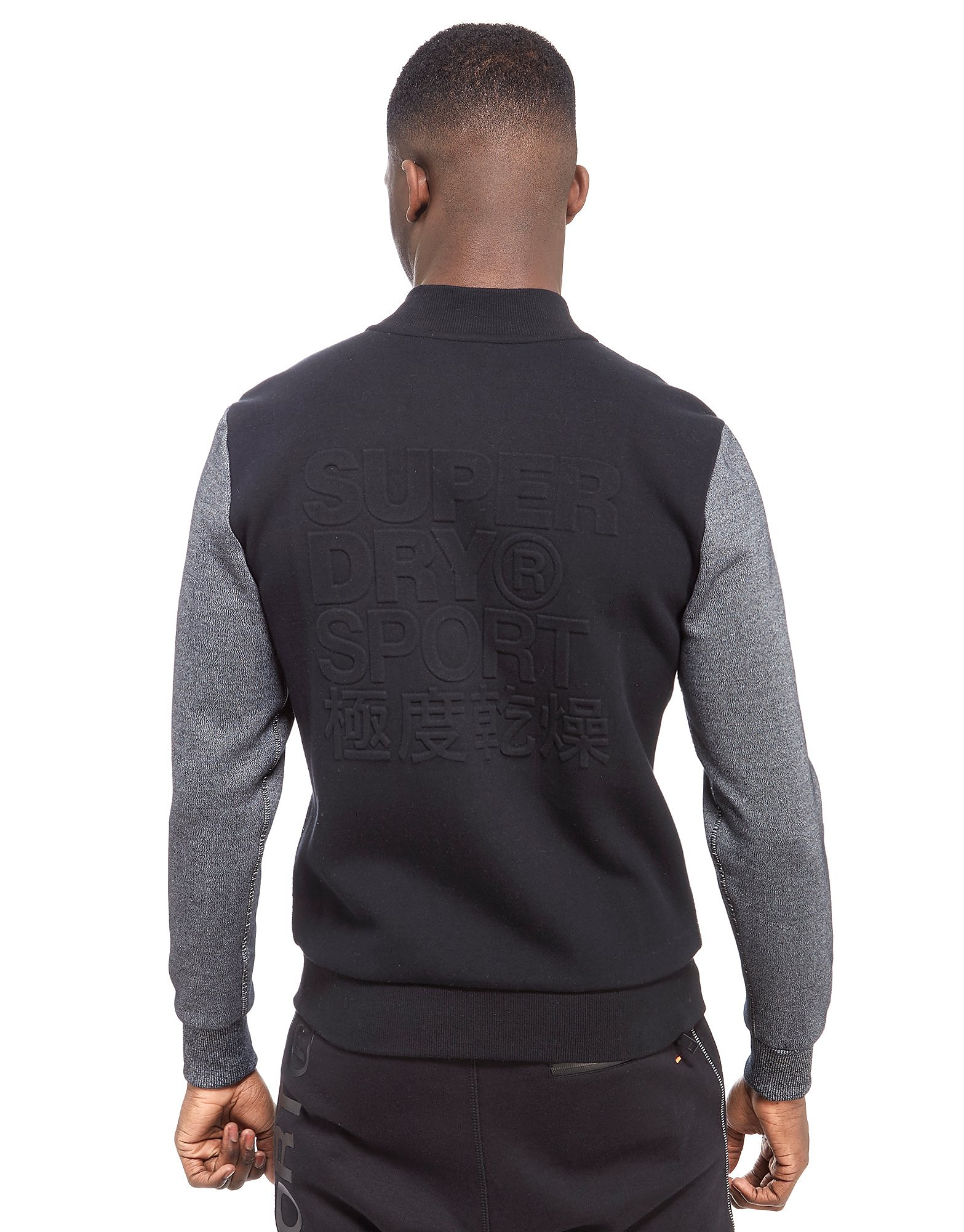 Superdry Gym Tech Embossed Bomber Jacket