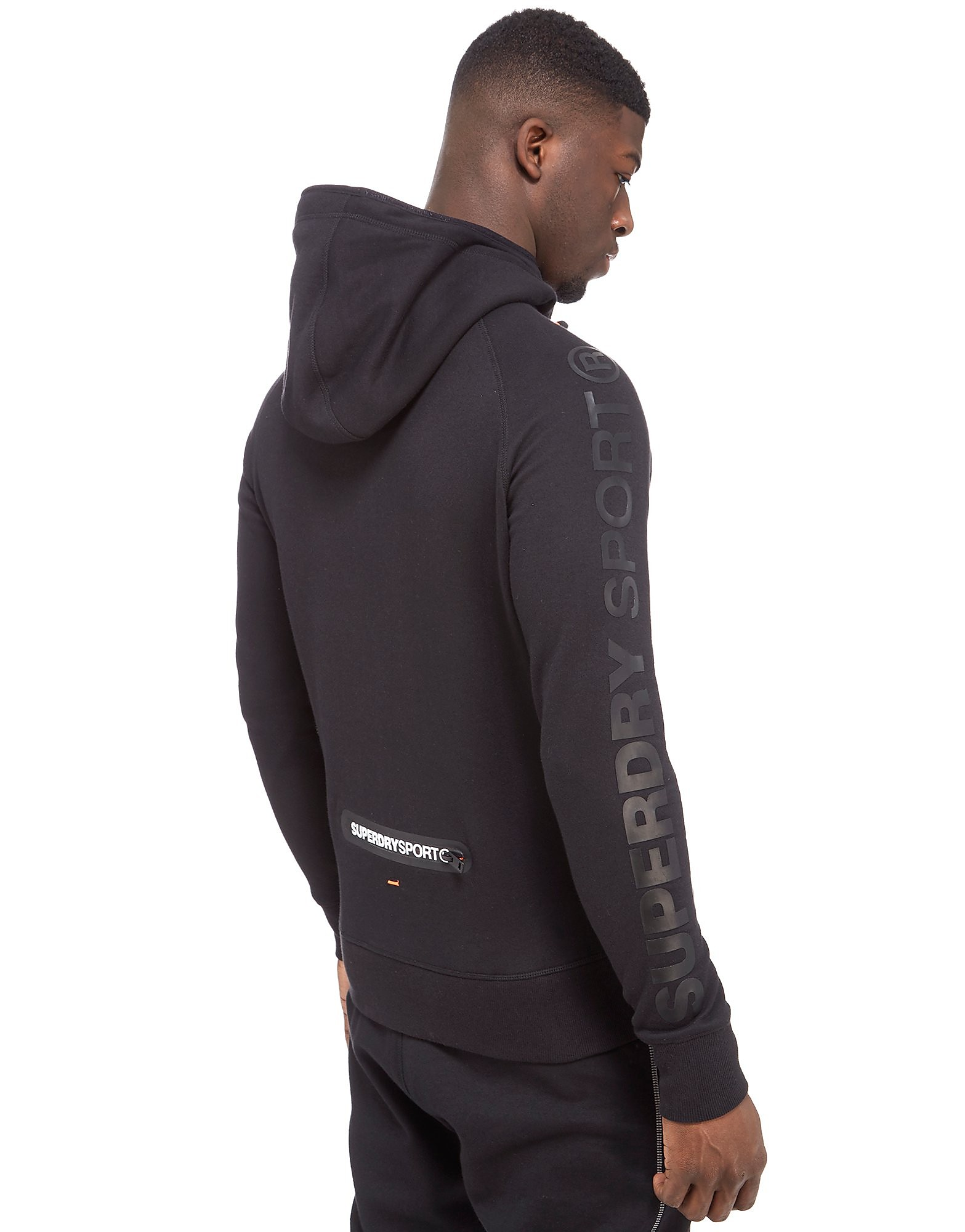 Superdry Sweat à capuche Gym Tech Zip