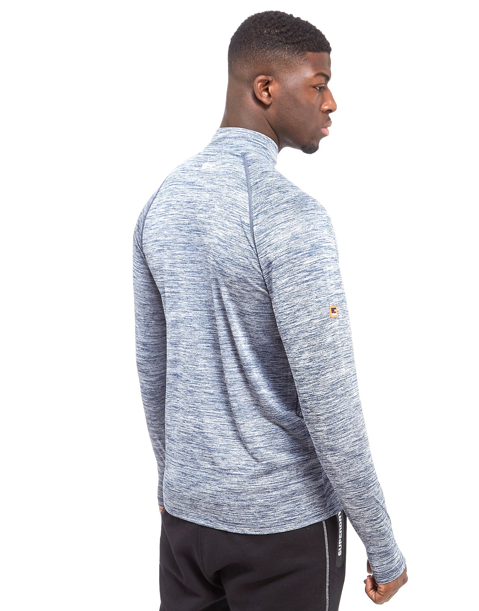 Superdry Sports Active Zip Henley Top