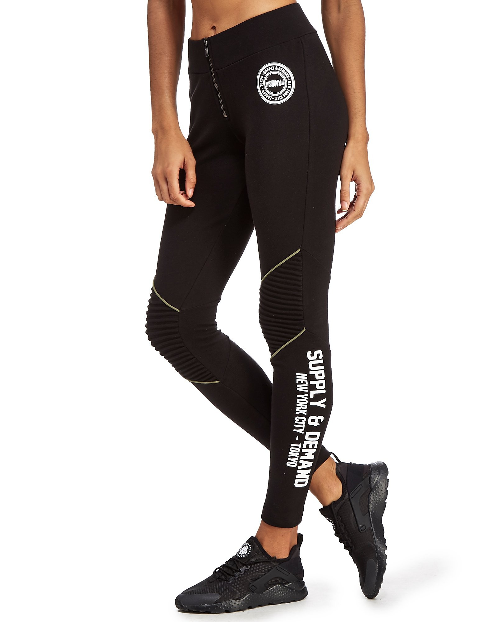 Supply & Demand Zip Biker Leggings