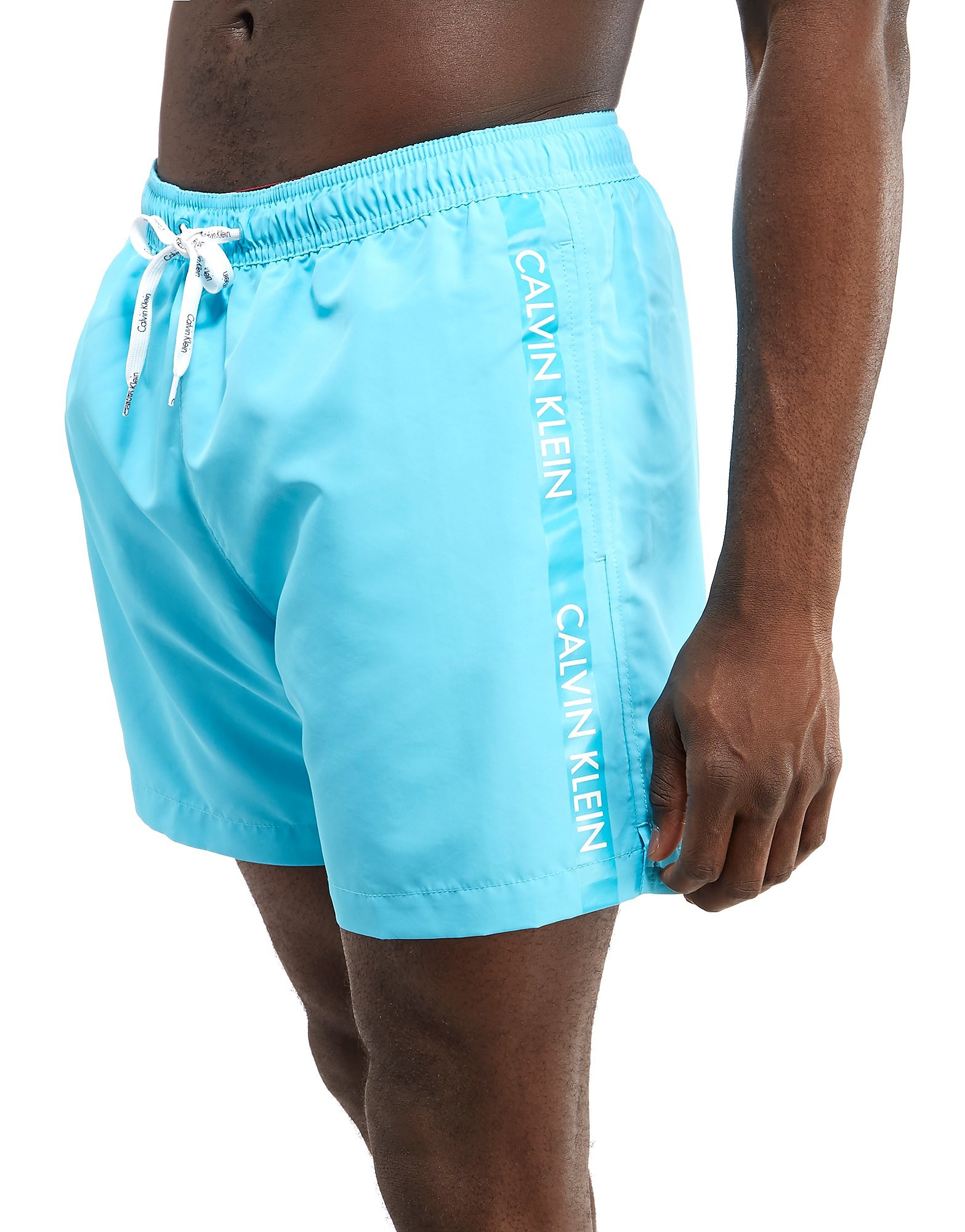 Calvin Klein Side Tape Swim Shorts