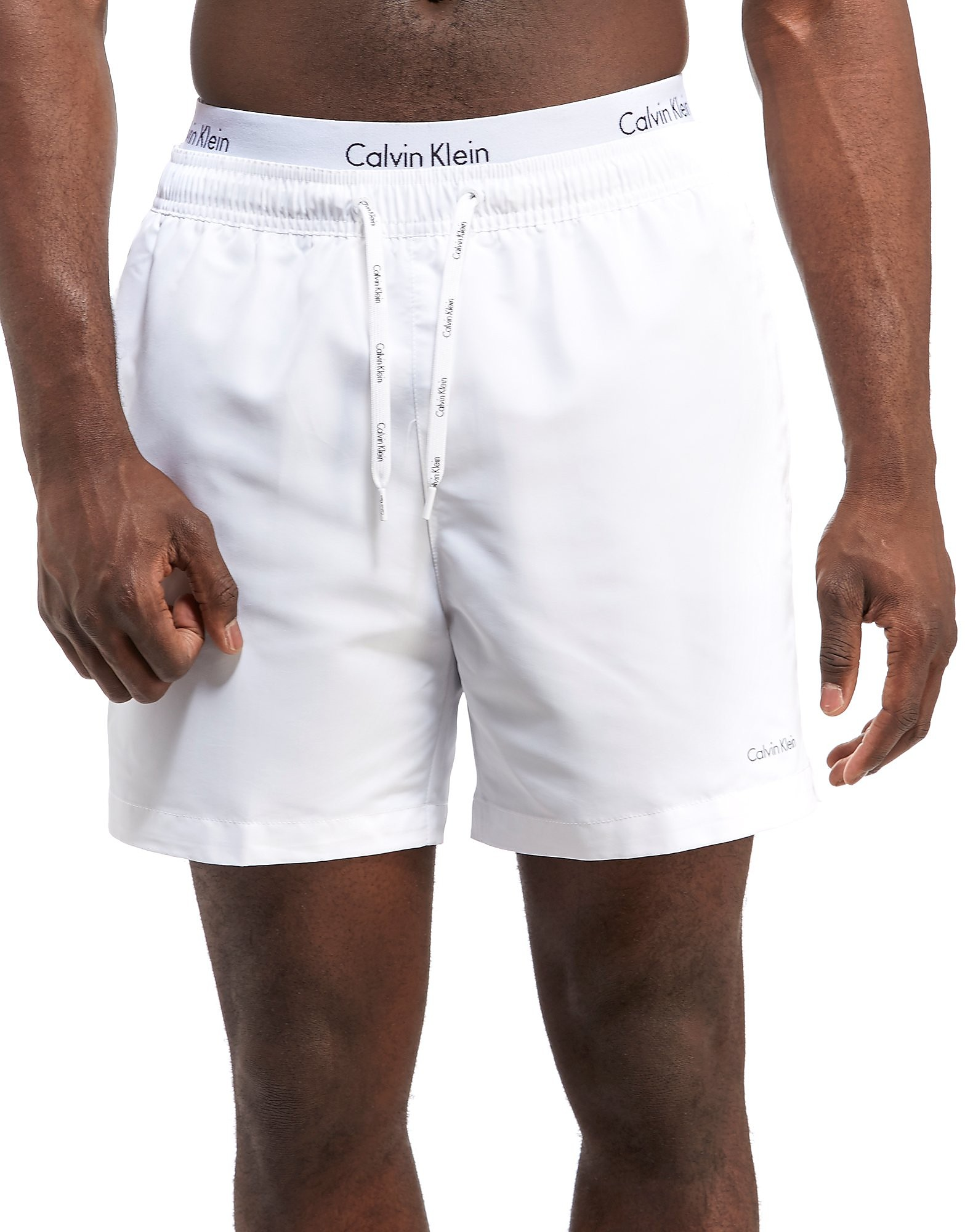 Calvin Klein Double Waist Band Swim Shorts