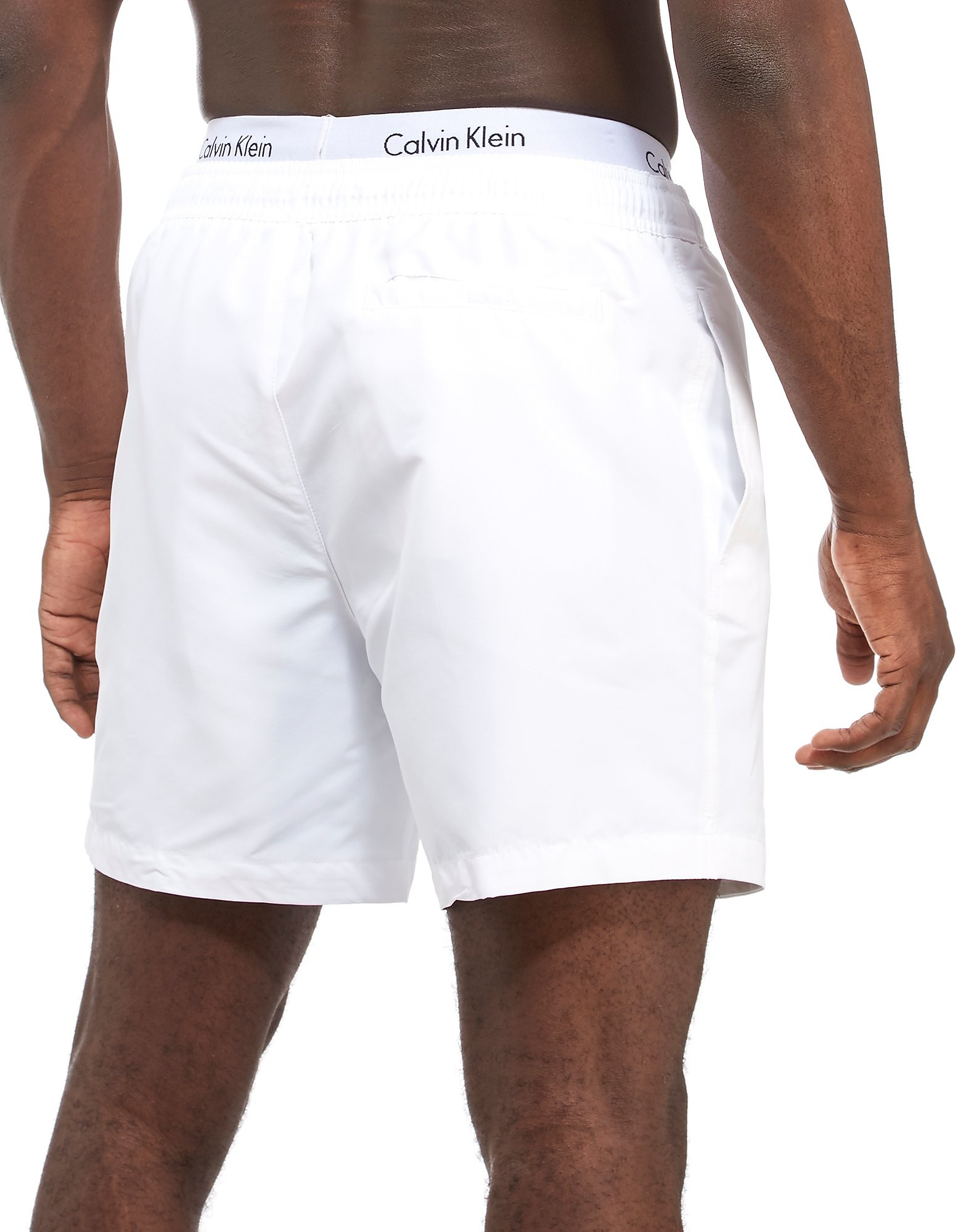 Calvin Klein Double Waist Band Swim Shorts