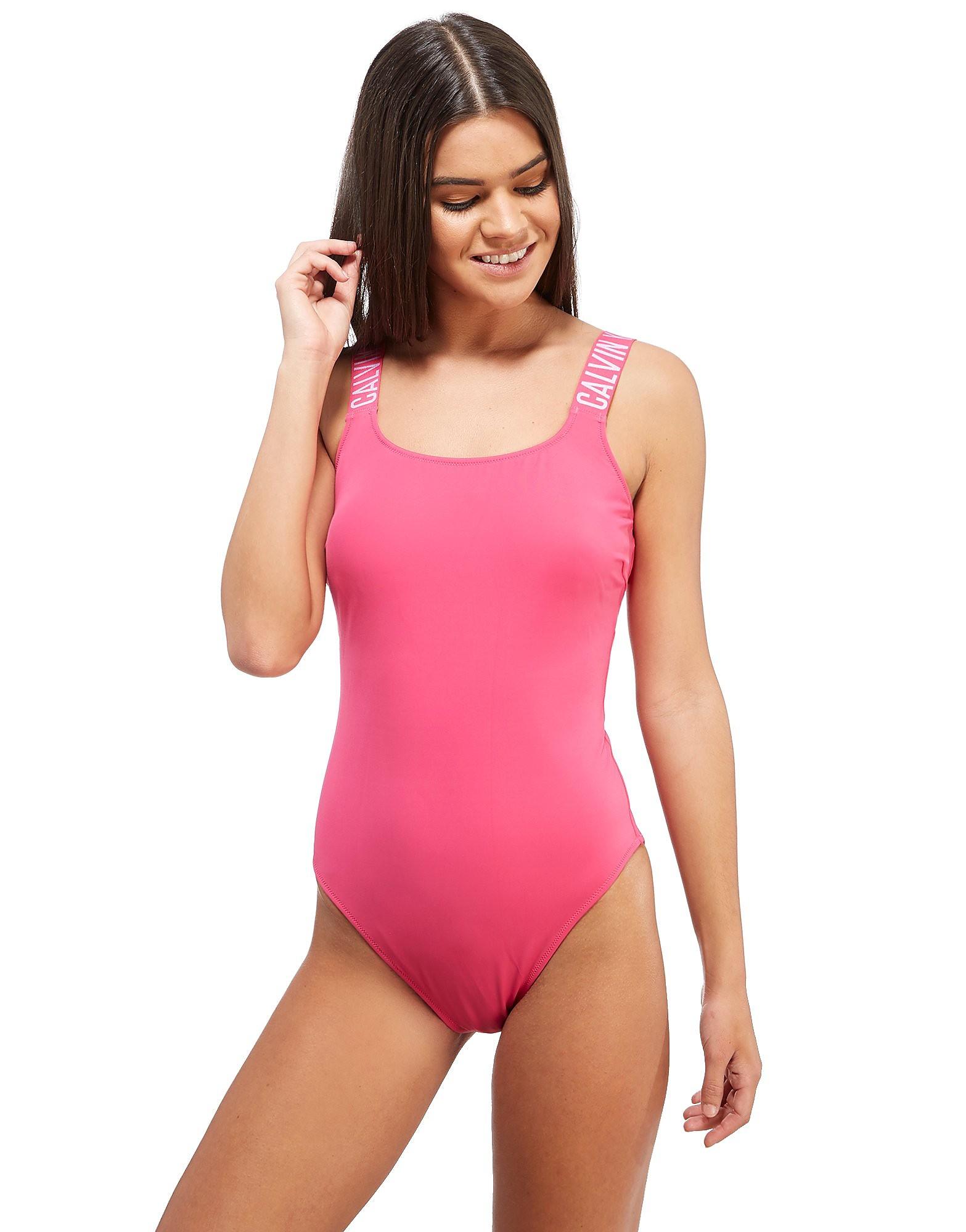 Calvin Klein Tape 1 Piece Swimsuit