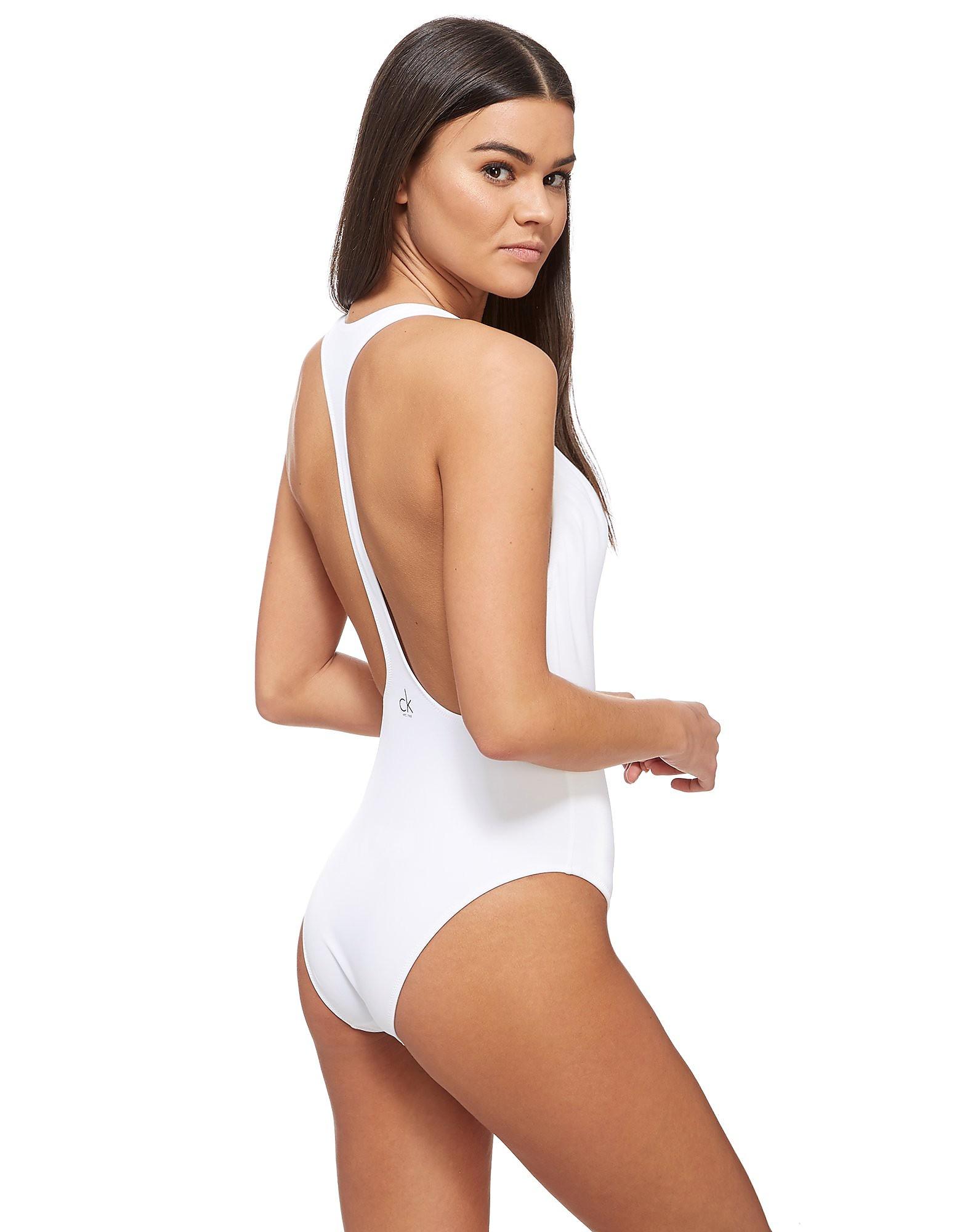 Calvin Klein NYC Racerback Swimsuit