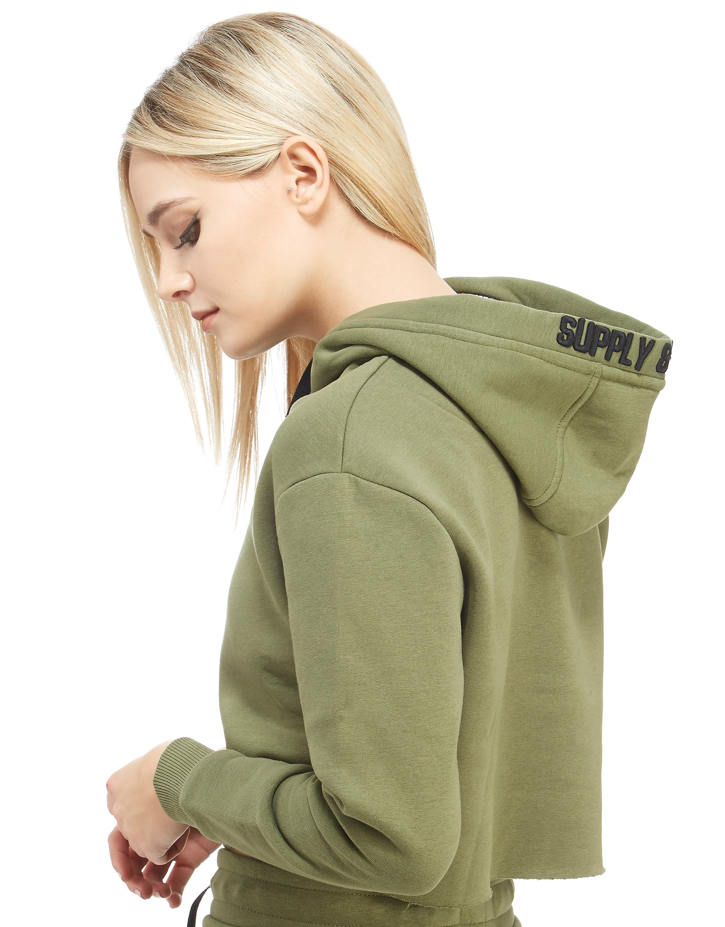 Supply & Demand Khaki Overhead Hoody