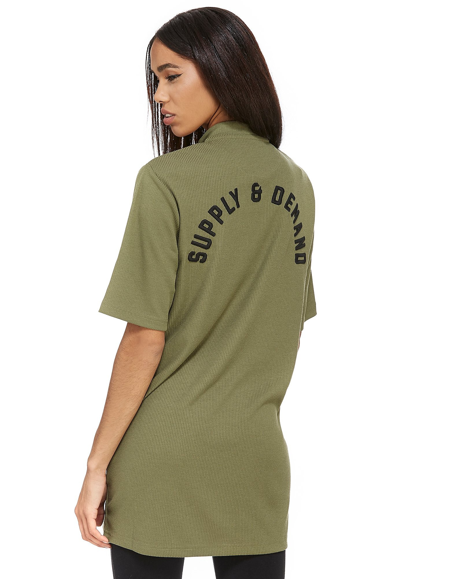 Supply & Demand Longline Rib T-Shirt