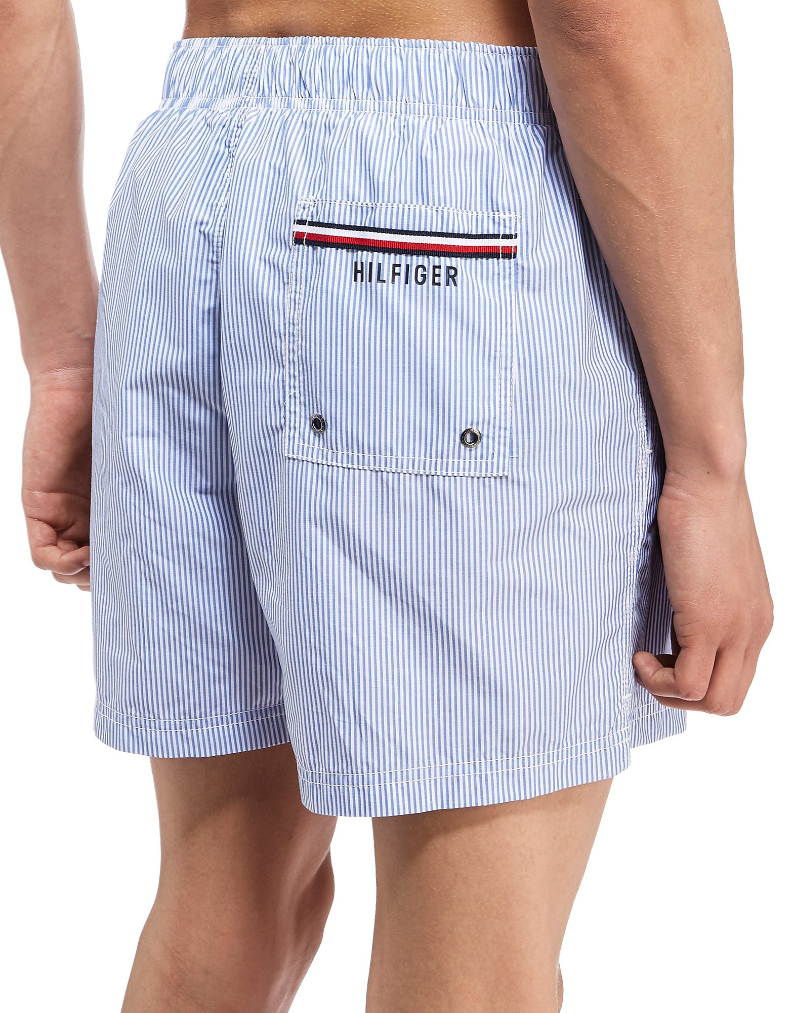 Tommy Hilfiger Pinstripe Swim Shorts