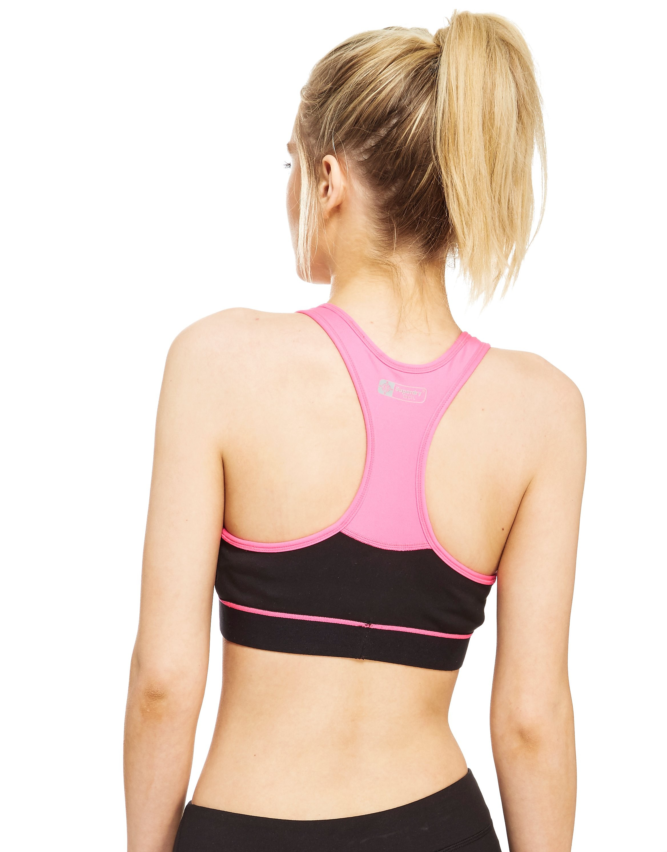 Superdry Reggiseno sportivo Gym Panel