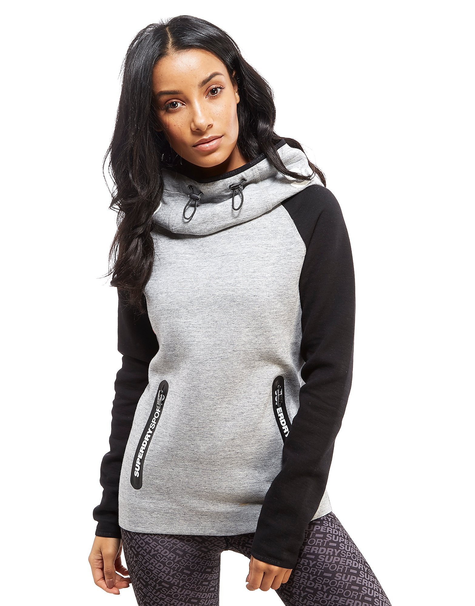 Superdry Gym Tech Cowl Hoody