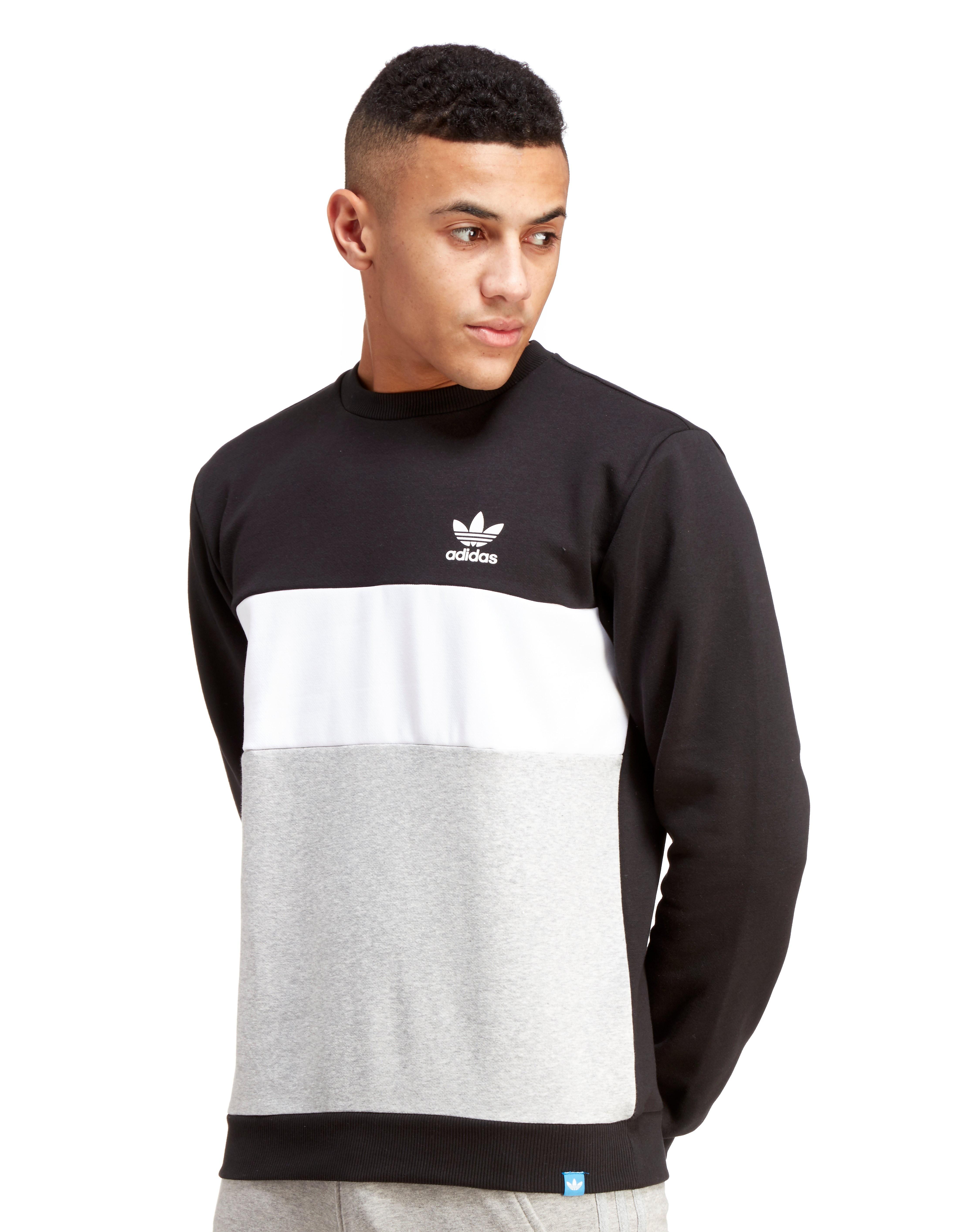 adidas Originals Trefoil Panel Sweatshirt