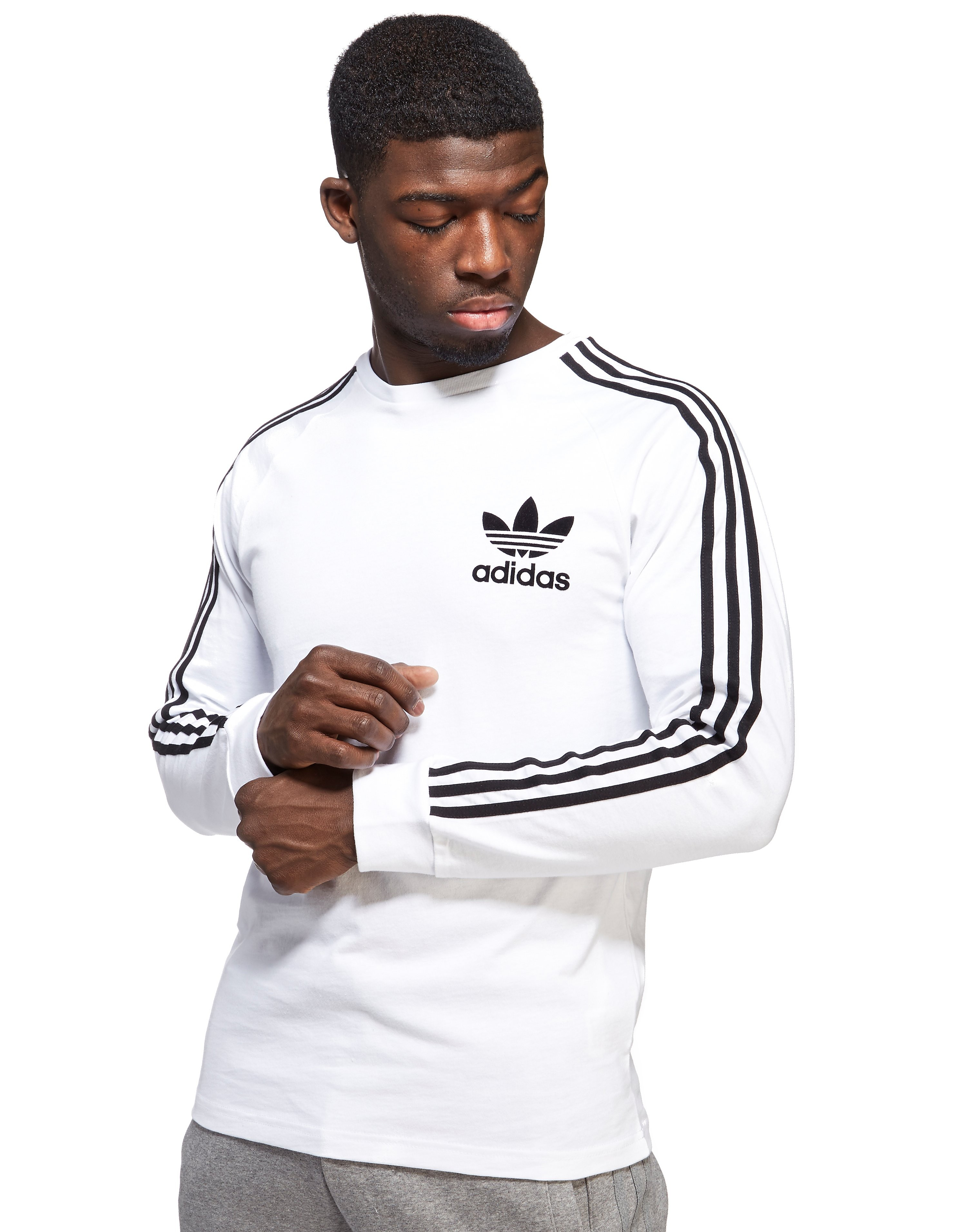 adidas Originals T-Shirt à manches longues California Homme