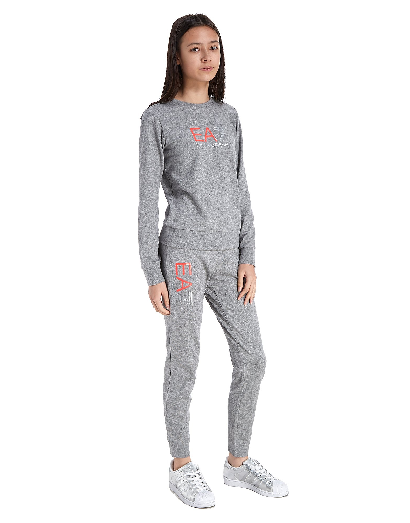 Emporio Armani EA7 Girls' Crew Tracksuit Junior