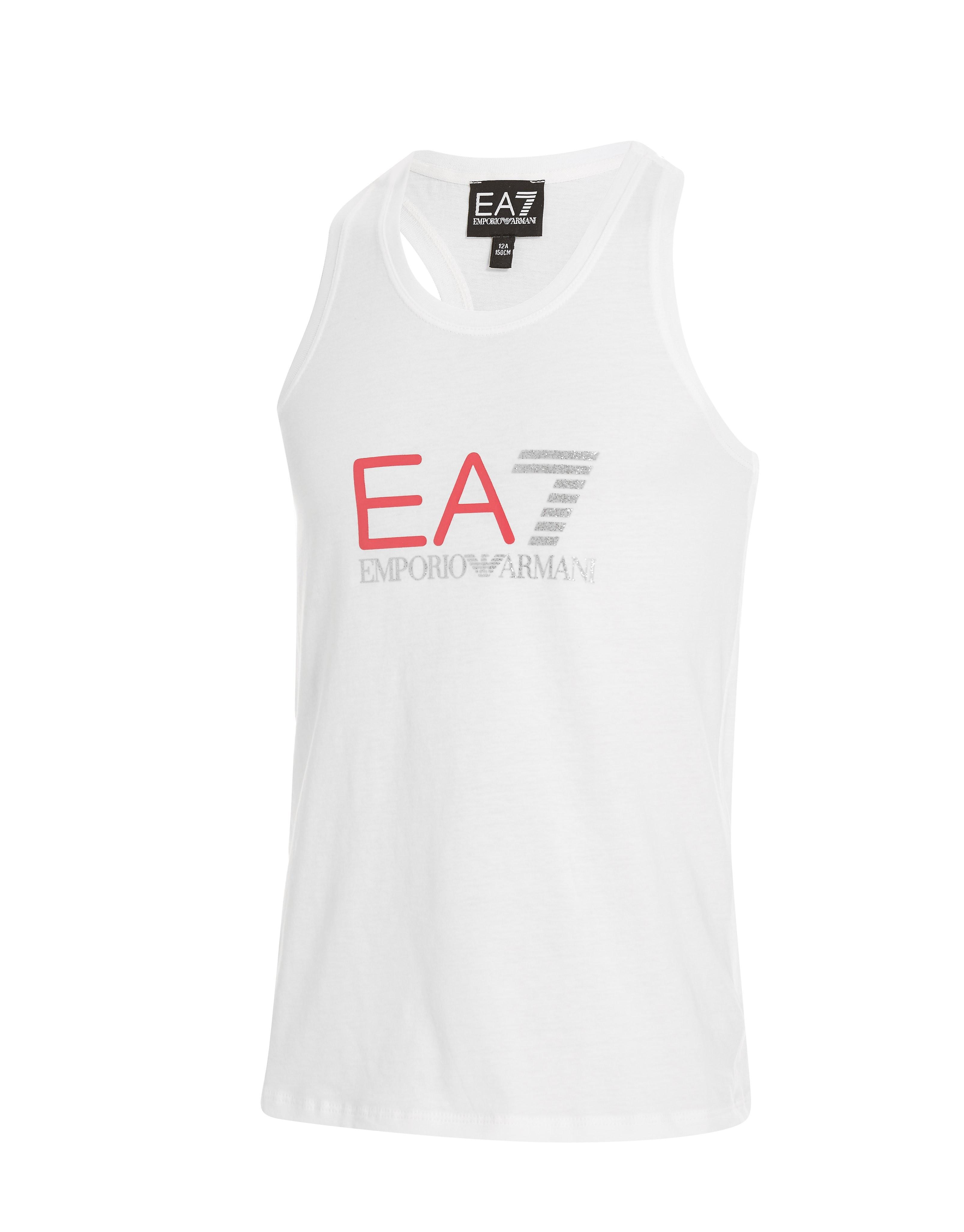 Emporio Armani EA7 Girls' Gloss Vest Junior