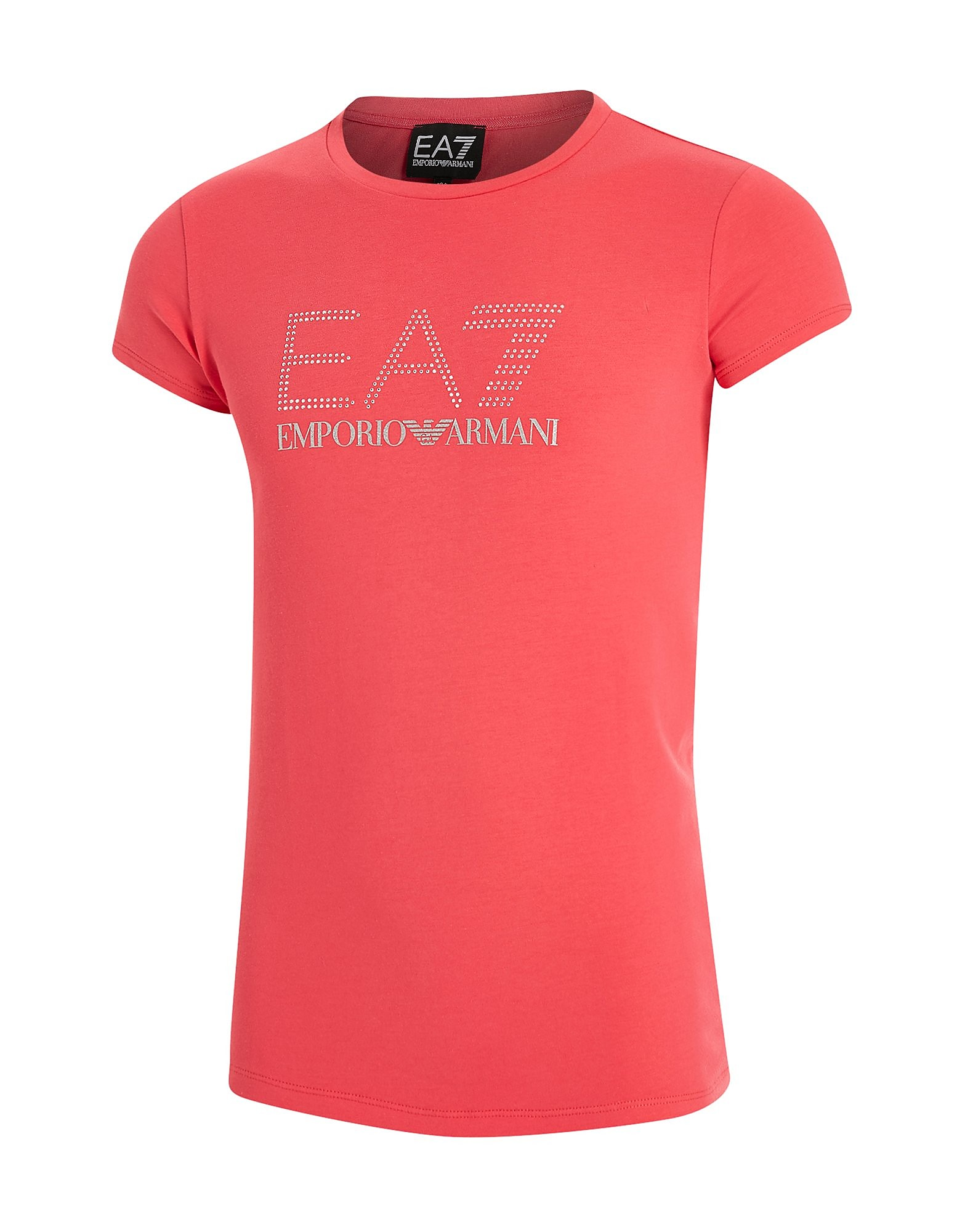 Emporio Armani EA7 Girls' Bling T-Shirt Junior