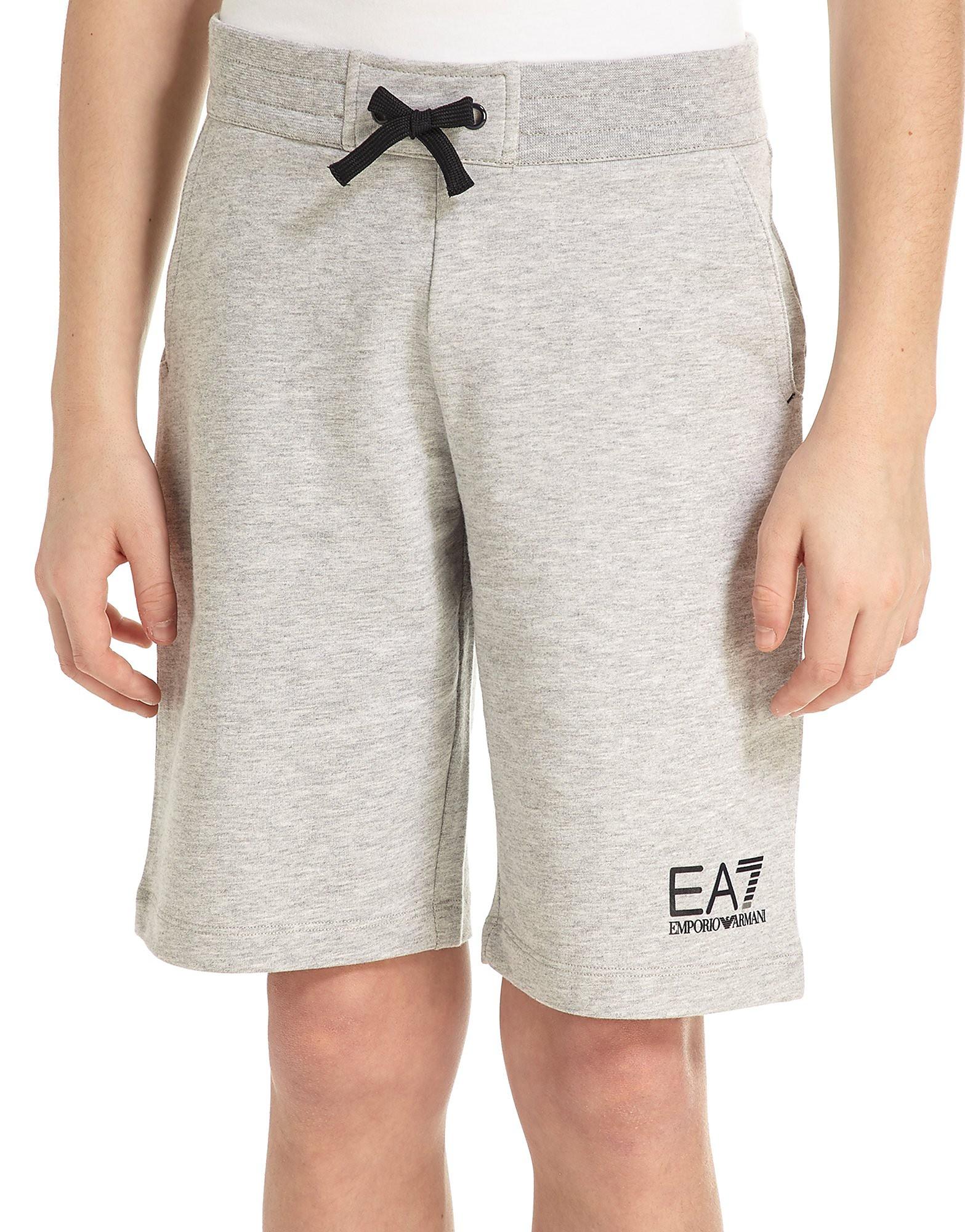 Emporio Armani EA7 Core Fleece Shorts Junior - gris, gris