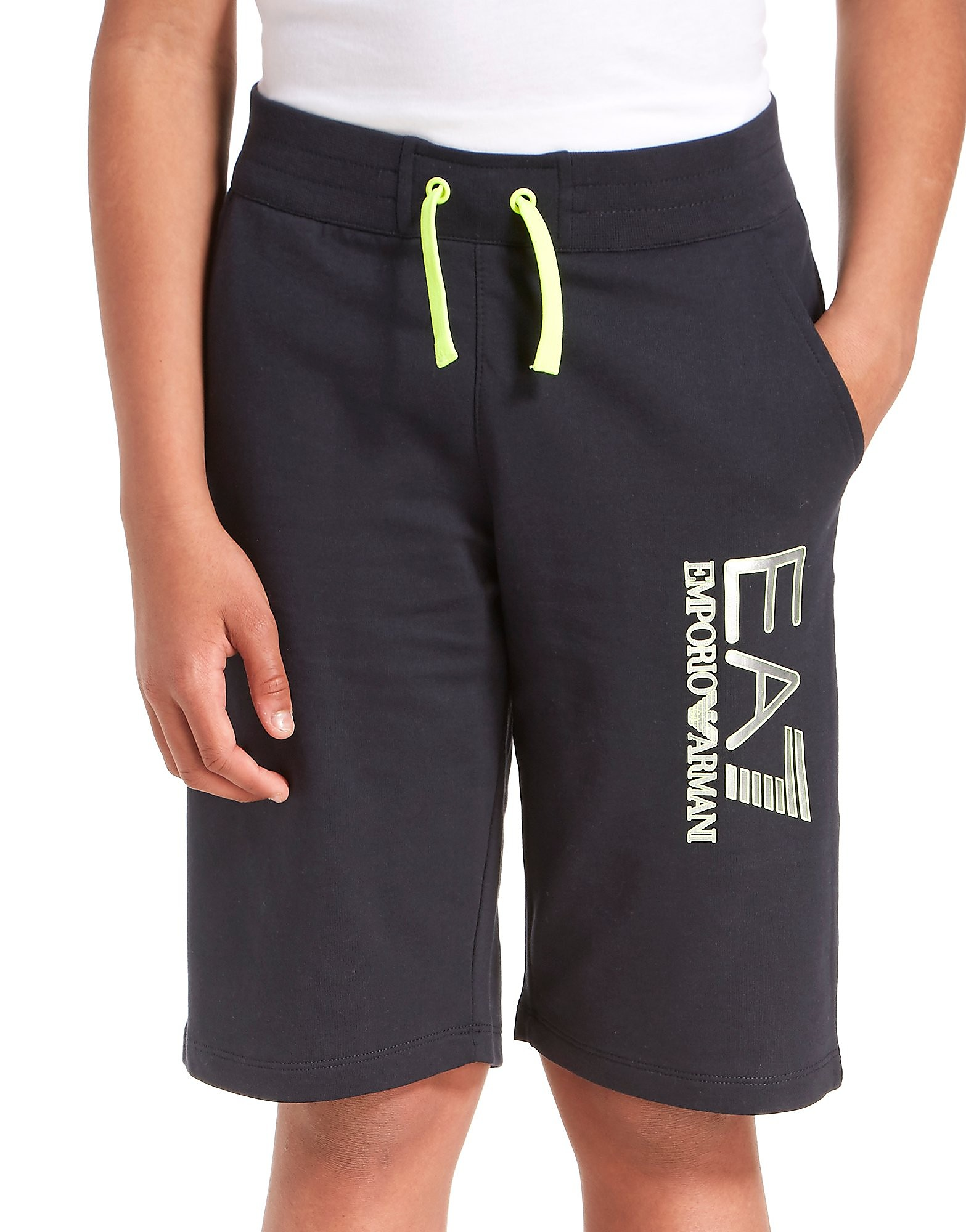 Emporio Armani EA7 Visibility Fleece Shorts Junior