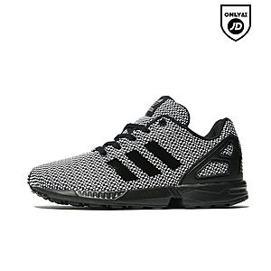 sports shoes 33558 a7630 Adidas Zx Flux Black And Gold Kids