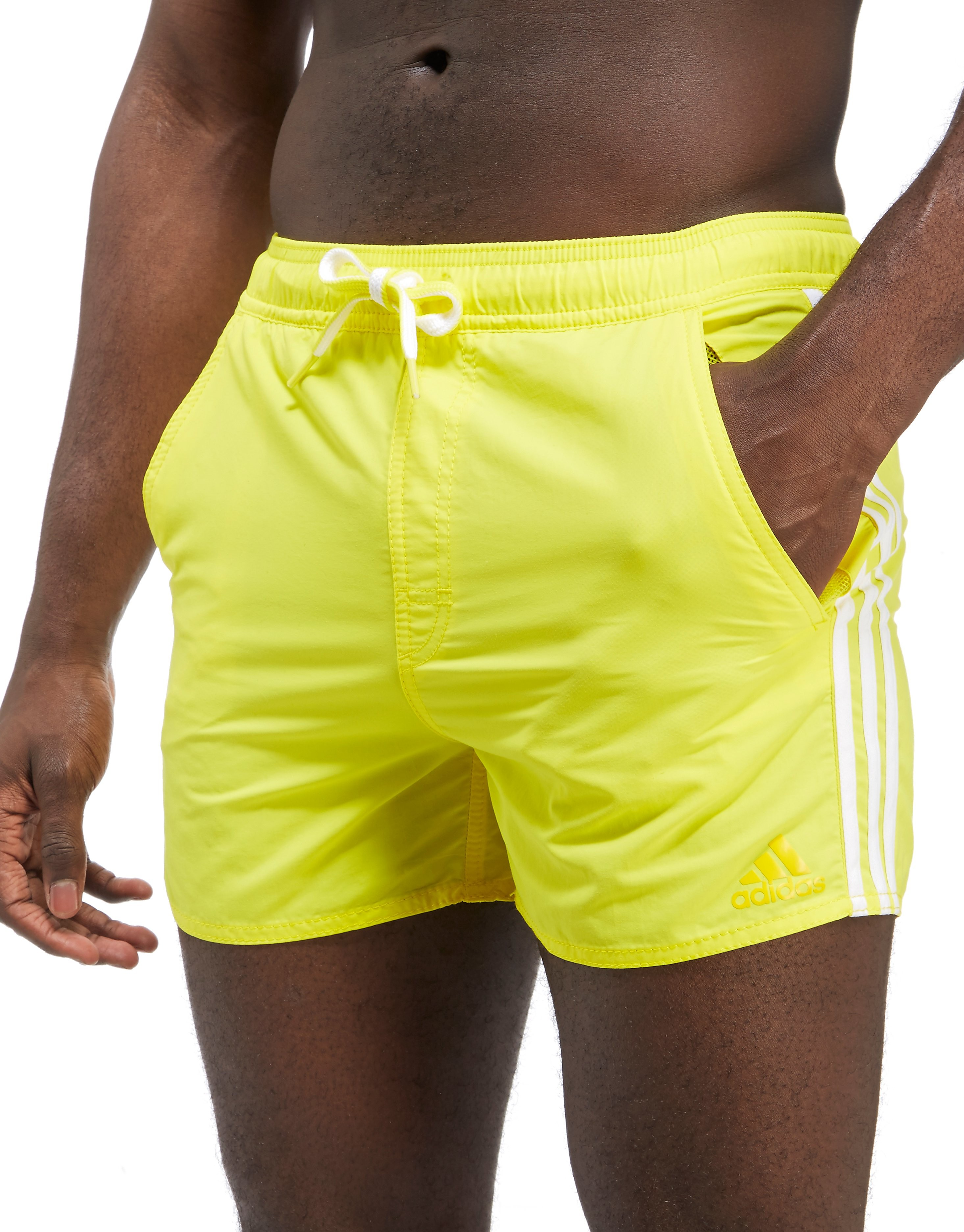 adidas 3-Stripe Swim Shorts