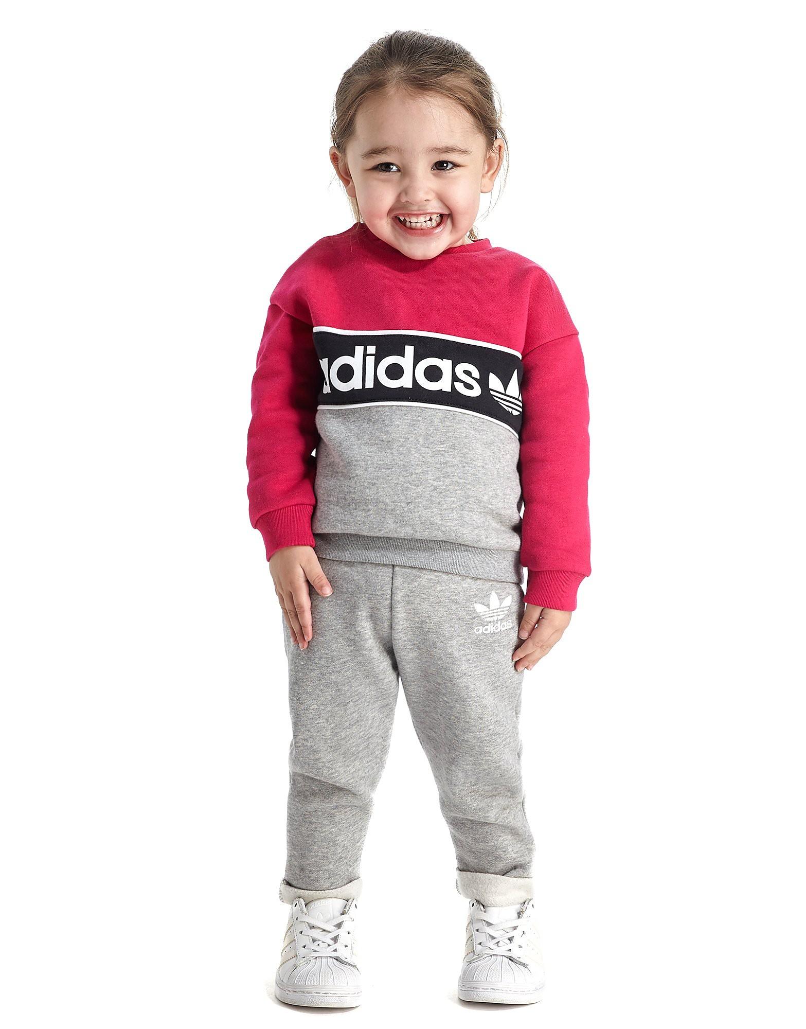 adidas Originals Trainingsanzug für Mädchen mit Rundhalsausschnitt