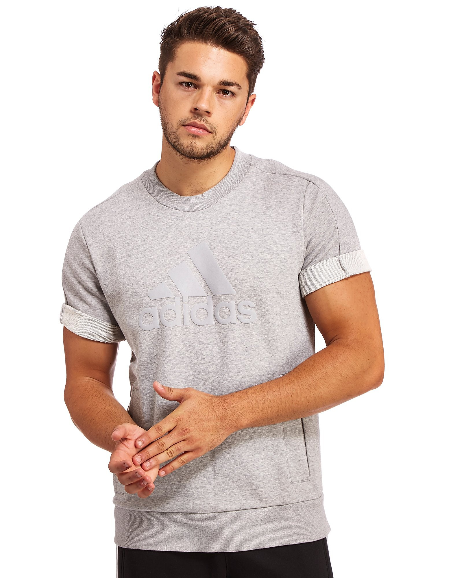 adidas Essential Short Sleeve Sweatshirt