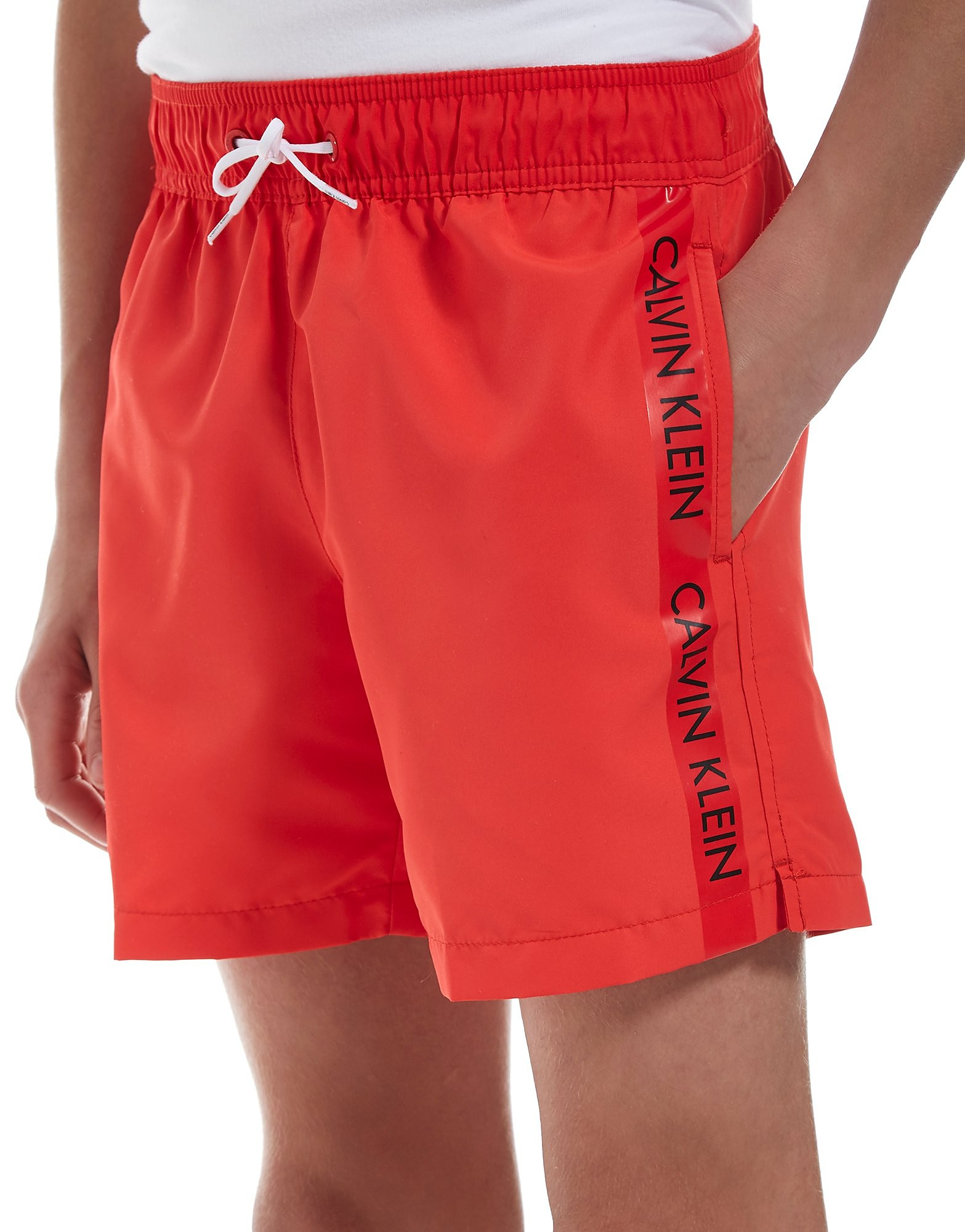 Calvin Klein Tape Swim Shorts Junior