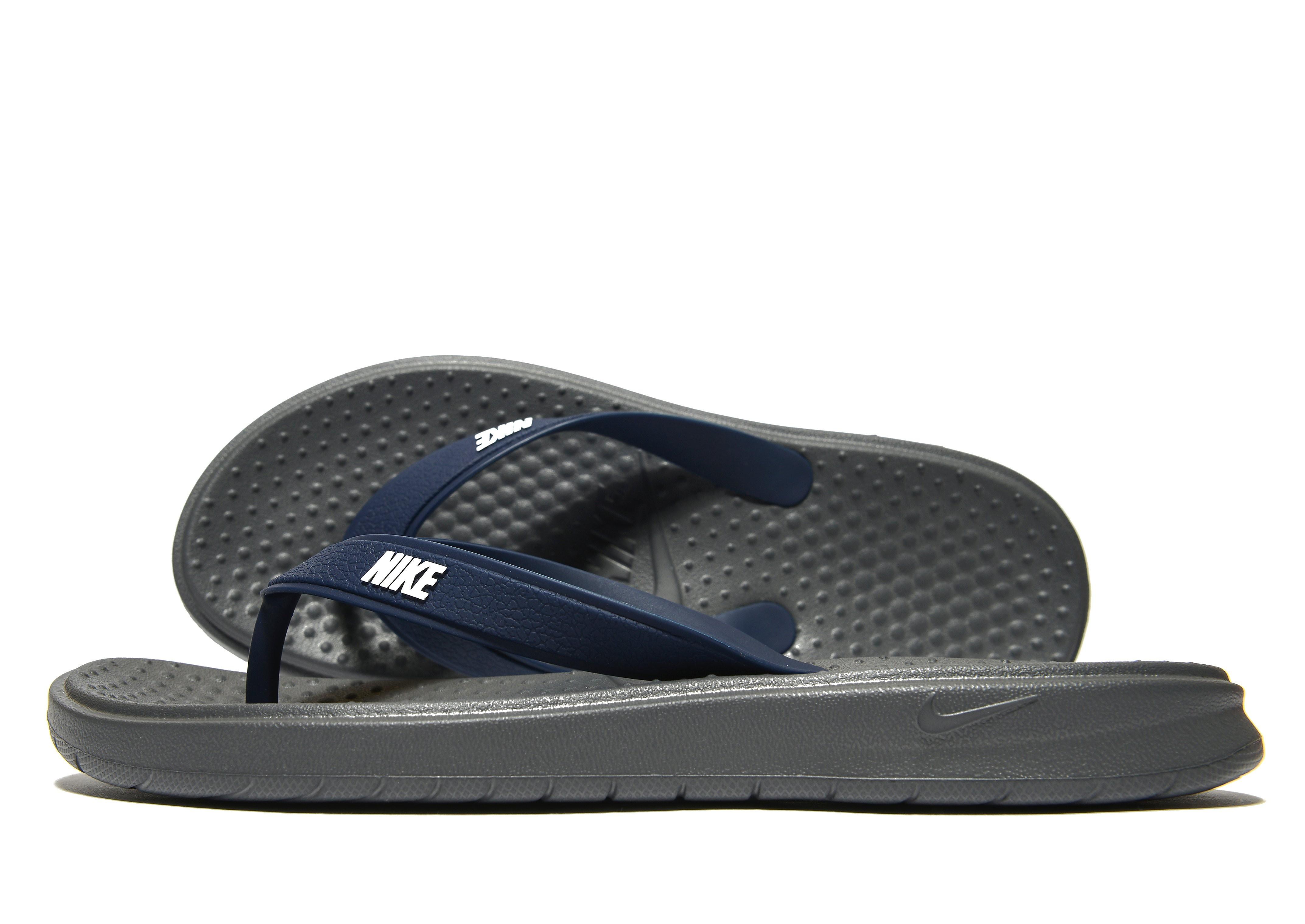 Nike Solay Flip Flops - Dark Grey, Dark Grey