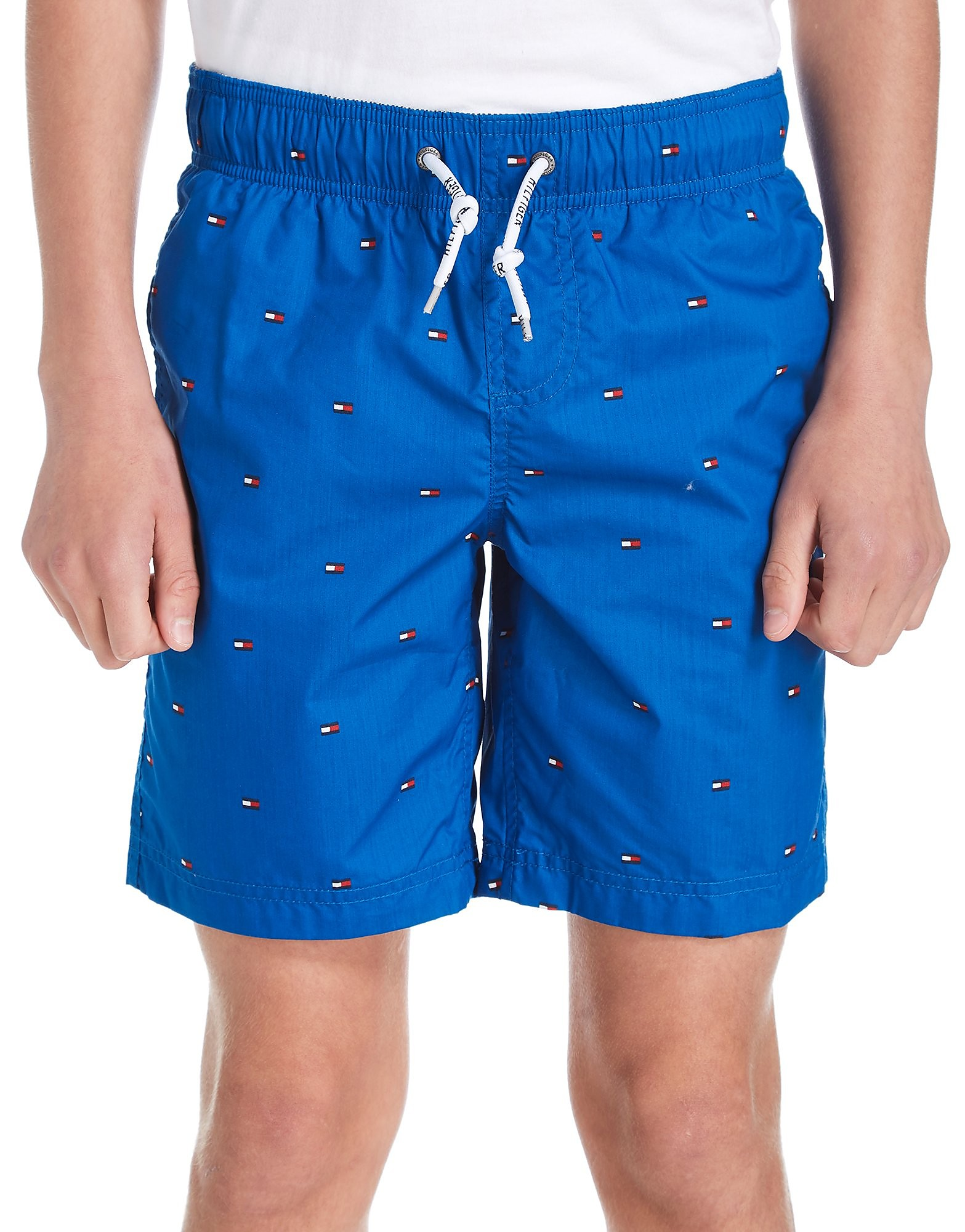 Tommy Hilfiger All-Over Flag Swim Shorts Junior