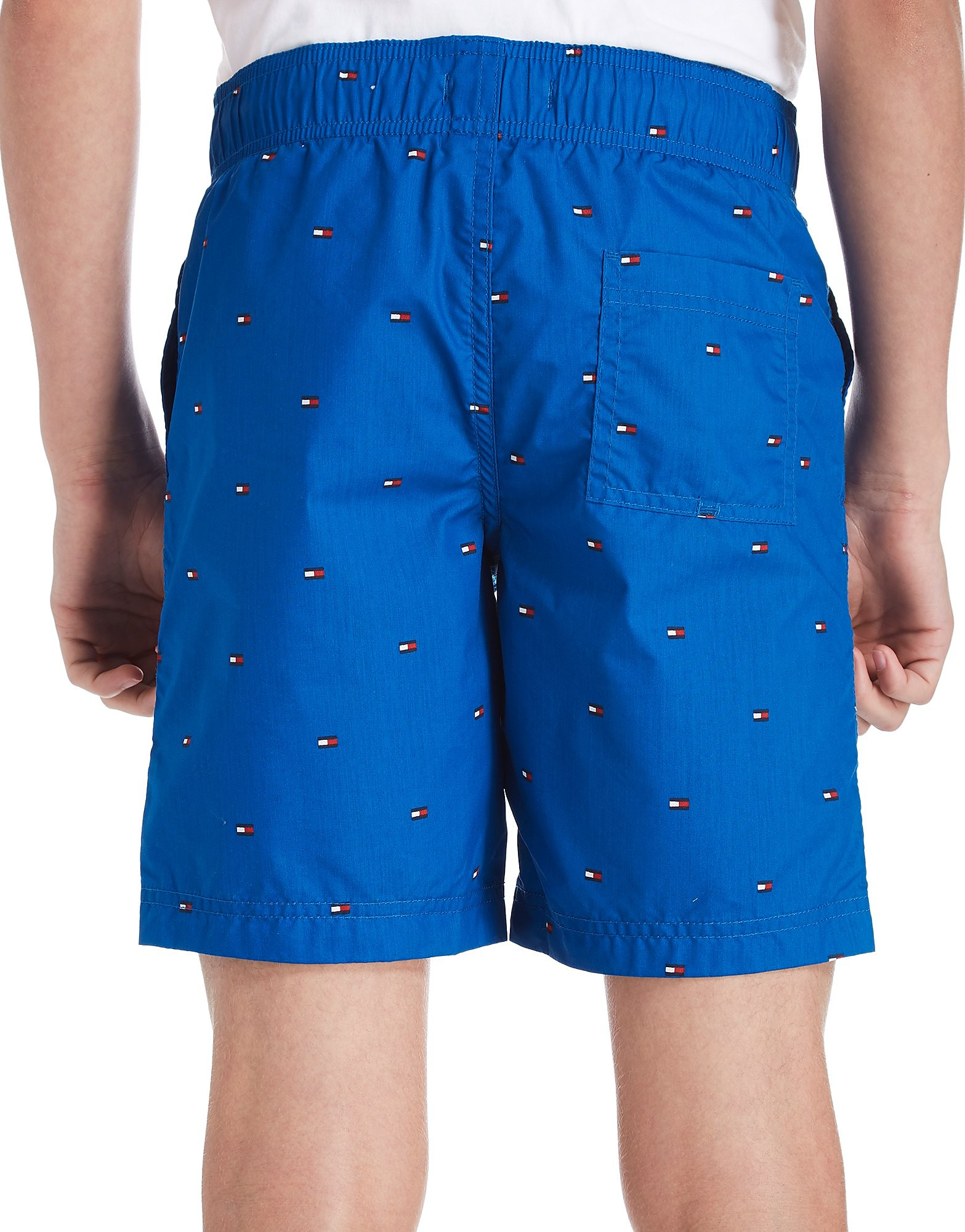Tommy Hilfiger All-Over Flag Swim Shorts Junior