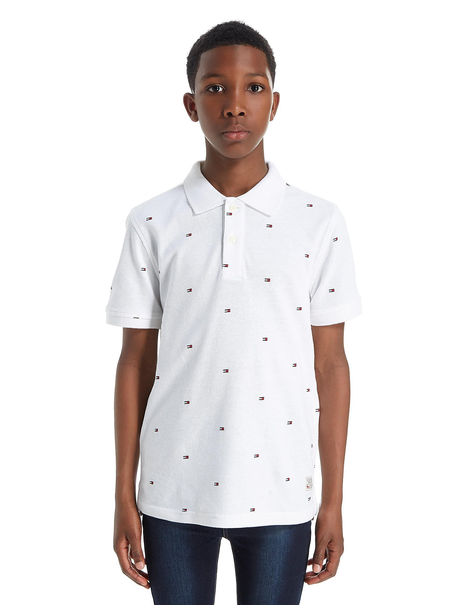 Tommy Hilfiger Repeat Flag Polo Junior