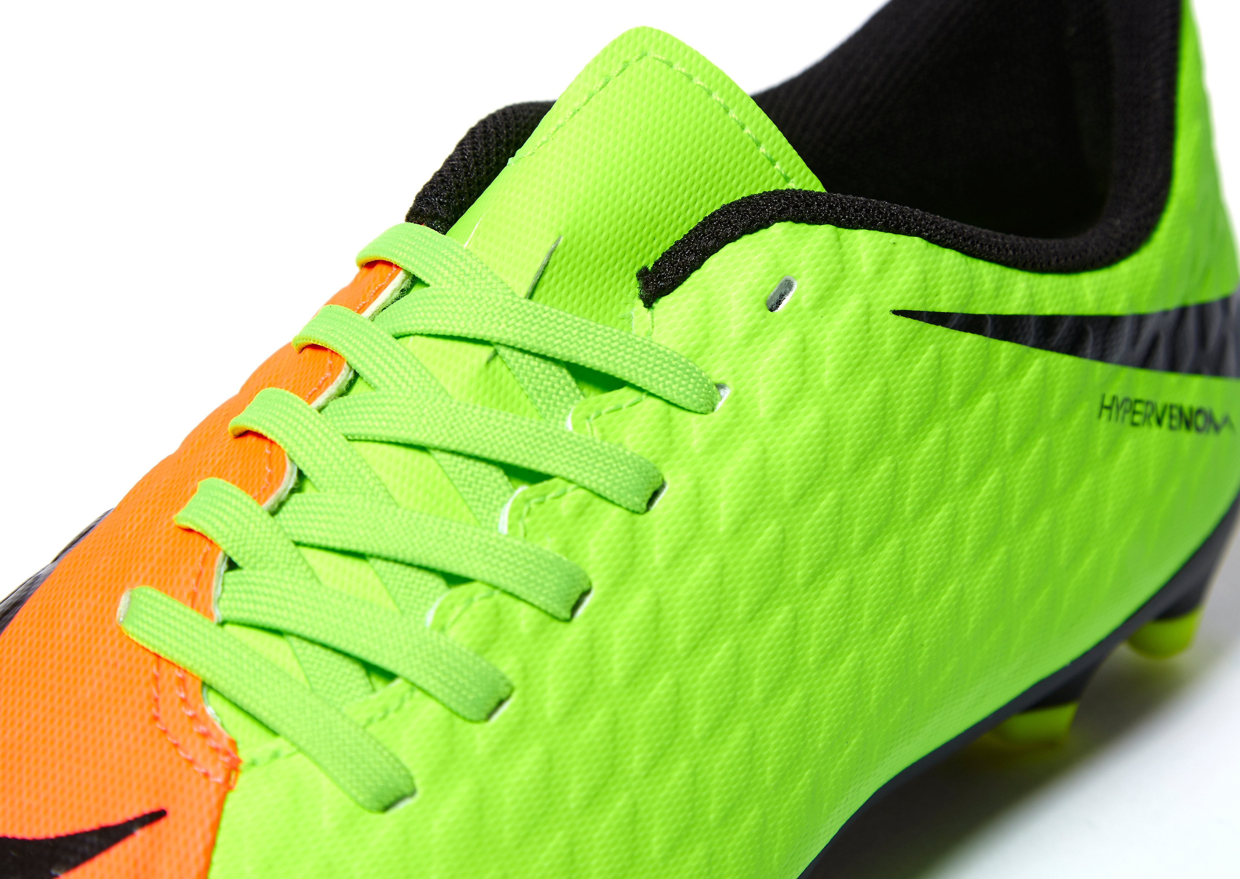 Nike Radiation Flare Hypervenom Phade III FG Children