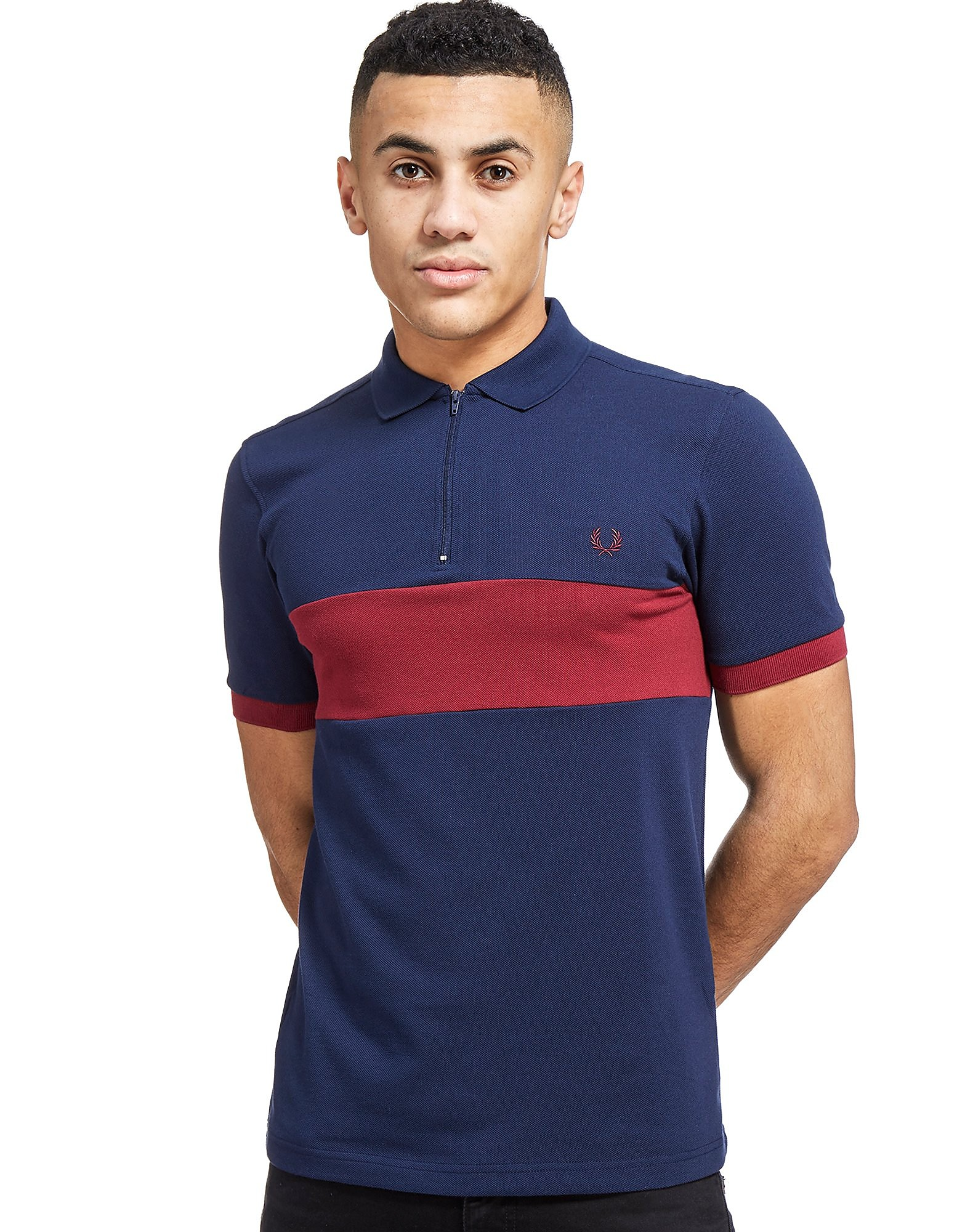 Fred Perry Chest Panel Pique Shirt
