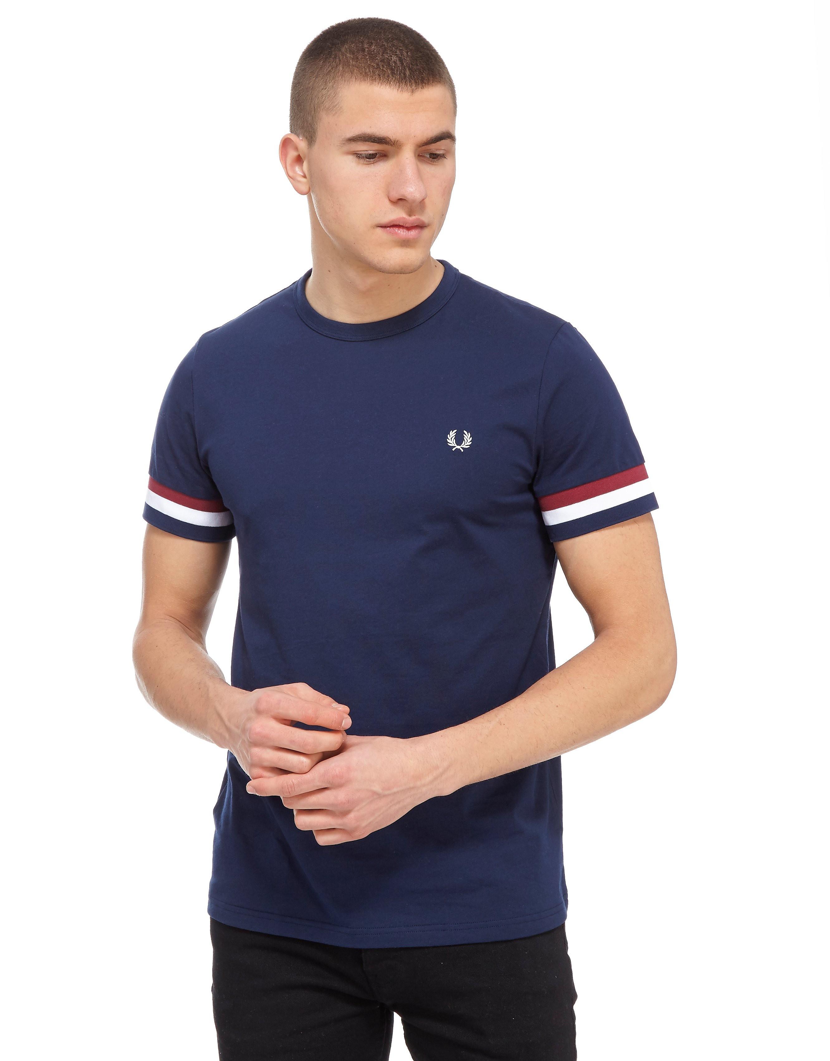 Fred Perry Stripe Cuff T-Shirt