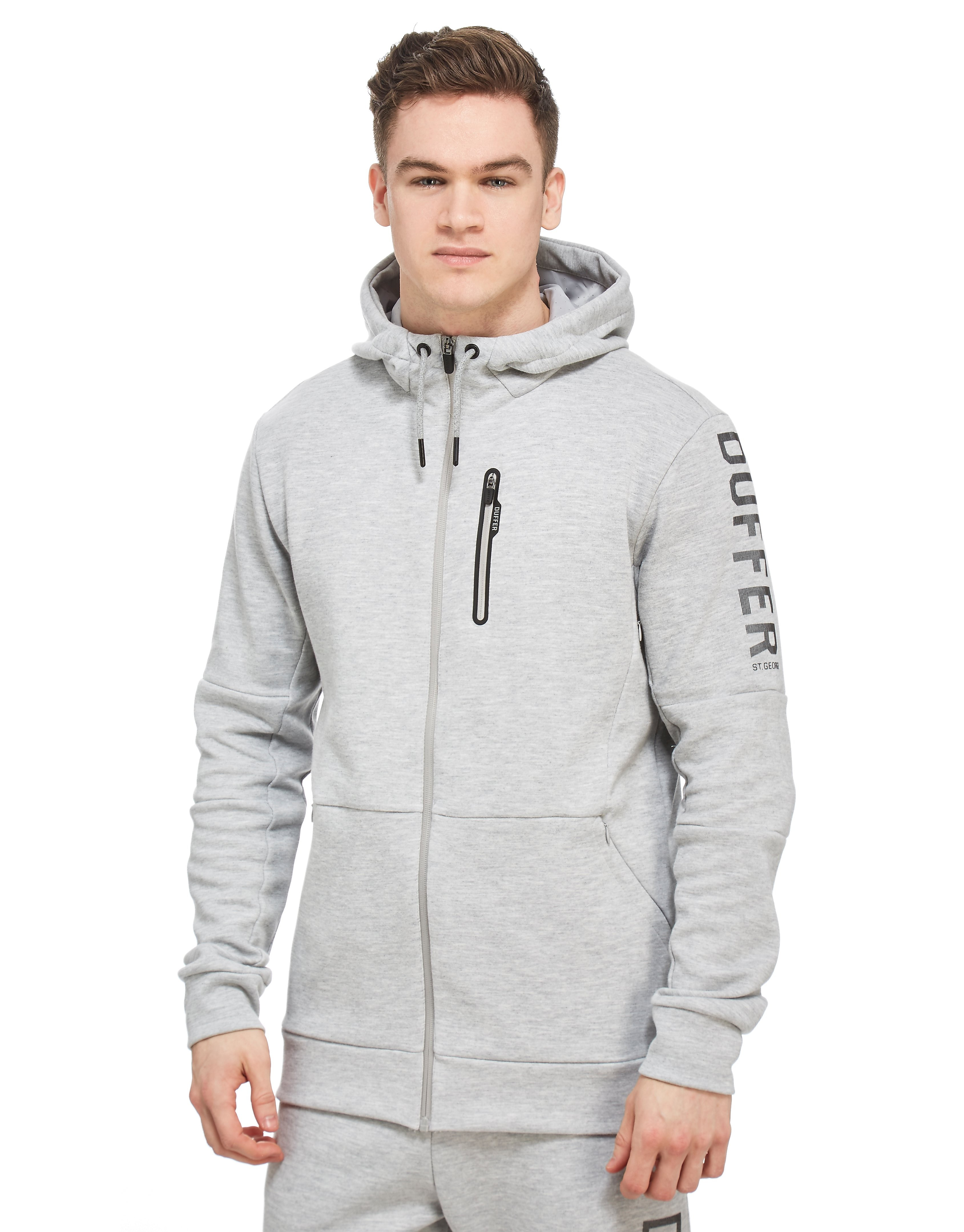 Duffer of St George Sudadera con capucha Structure Full Zip